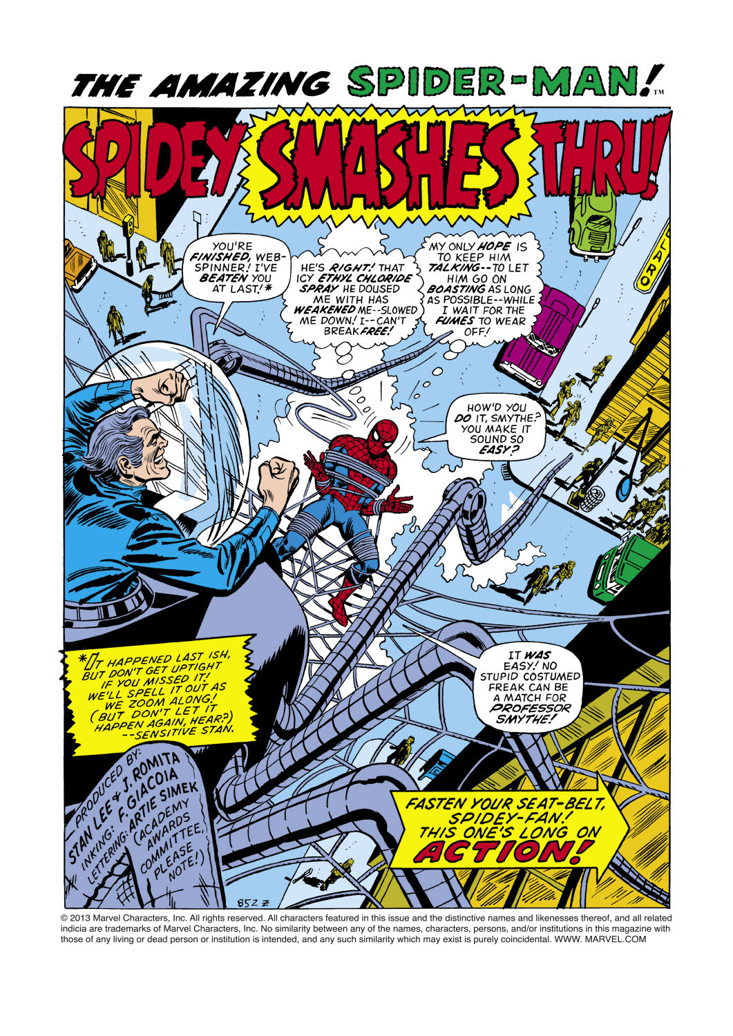 The Amazing Spider-Man (1963) 107 Page 1