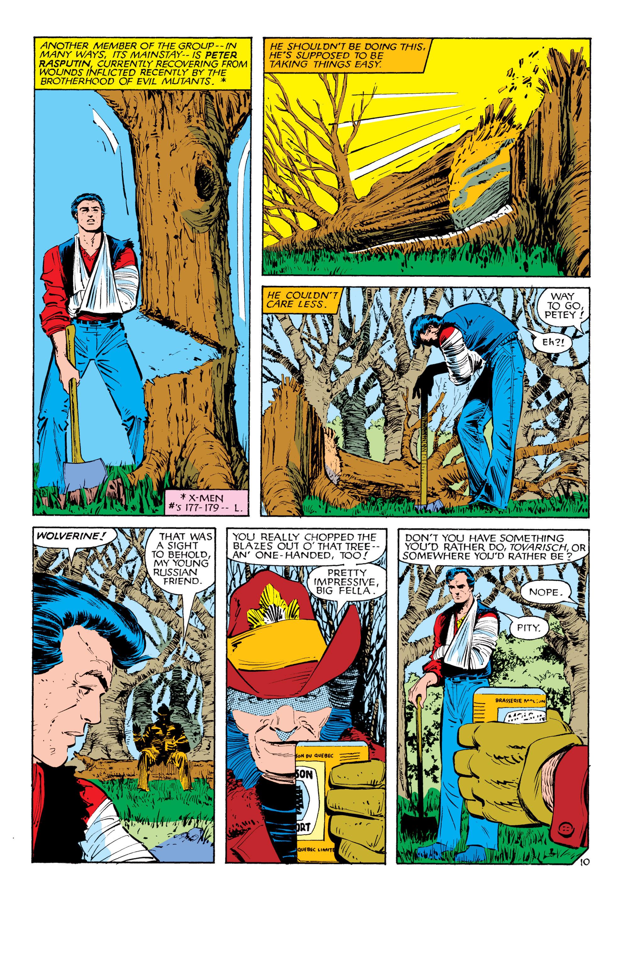 Read online Uncanny X-Men (1963) comic -  Issue #180 - 11