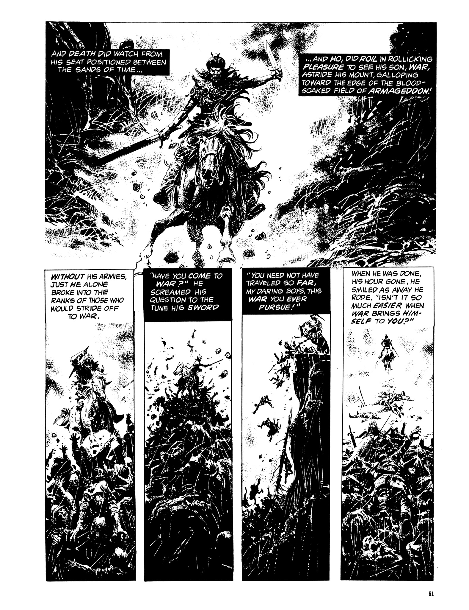 Read online Eerie Archives comic -  Issue # TPB 14 - 62