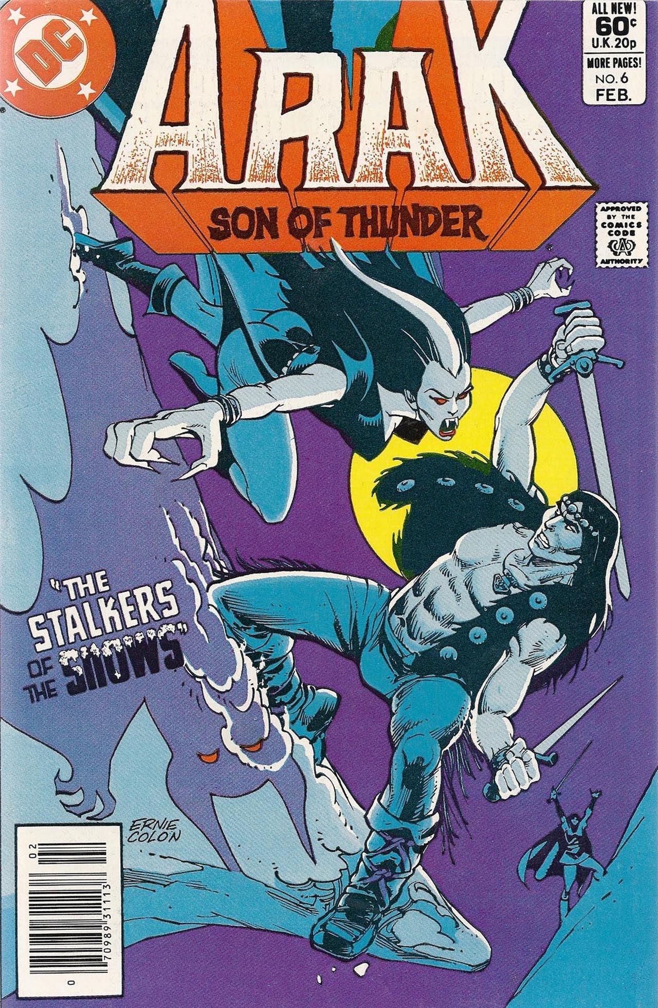 Arak Son of Thunder 6 Page 1