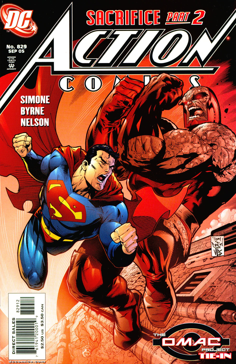 Read online Action Comics (1938) comic -  Issue #829 - 2
