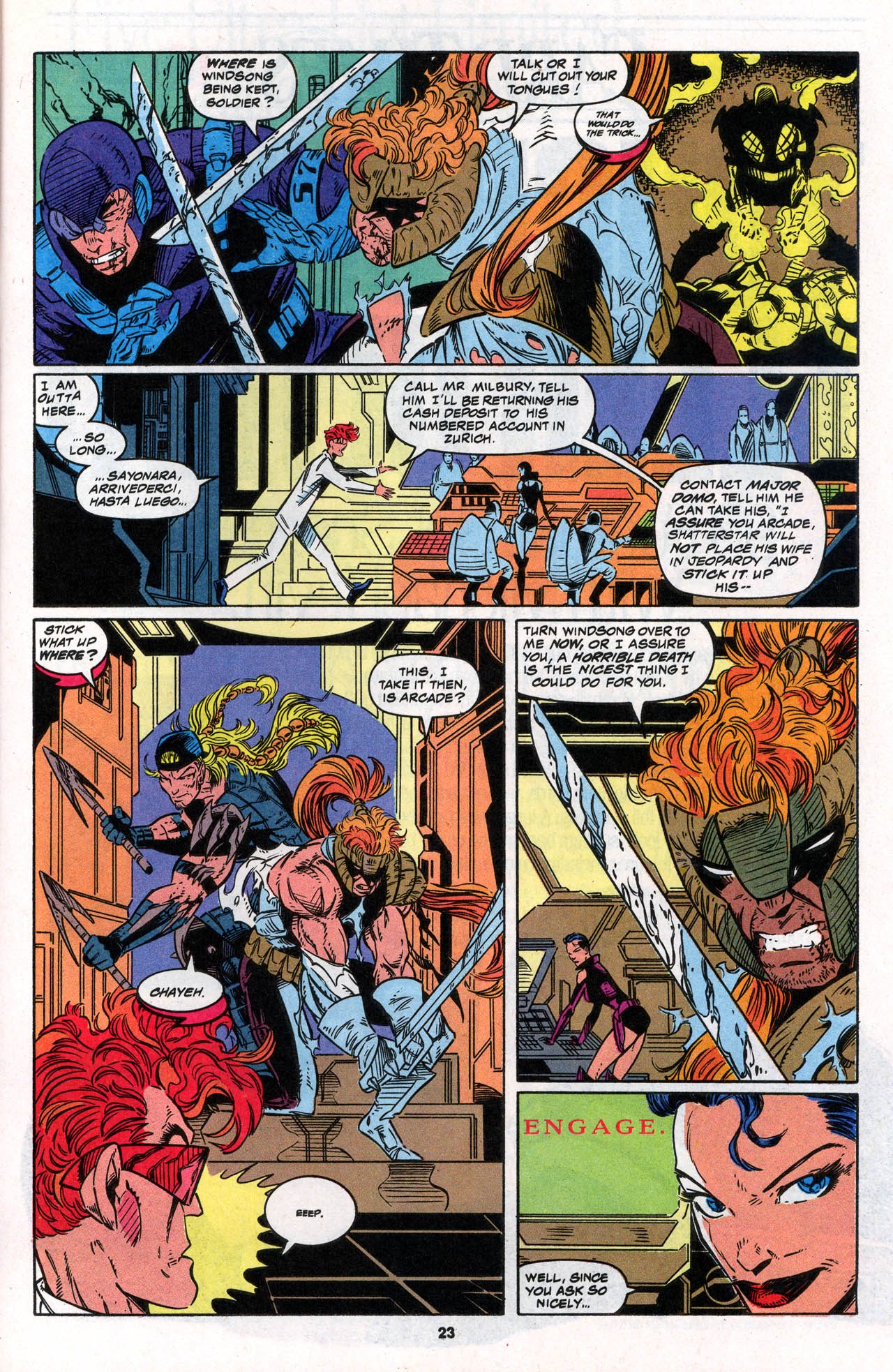 Read online X-Force (1991) comic -  Issue #30 - 24