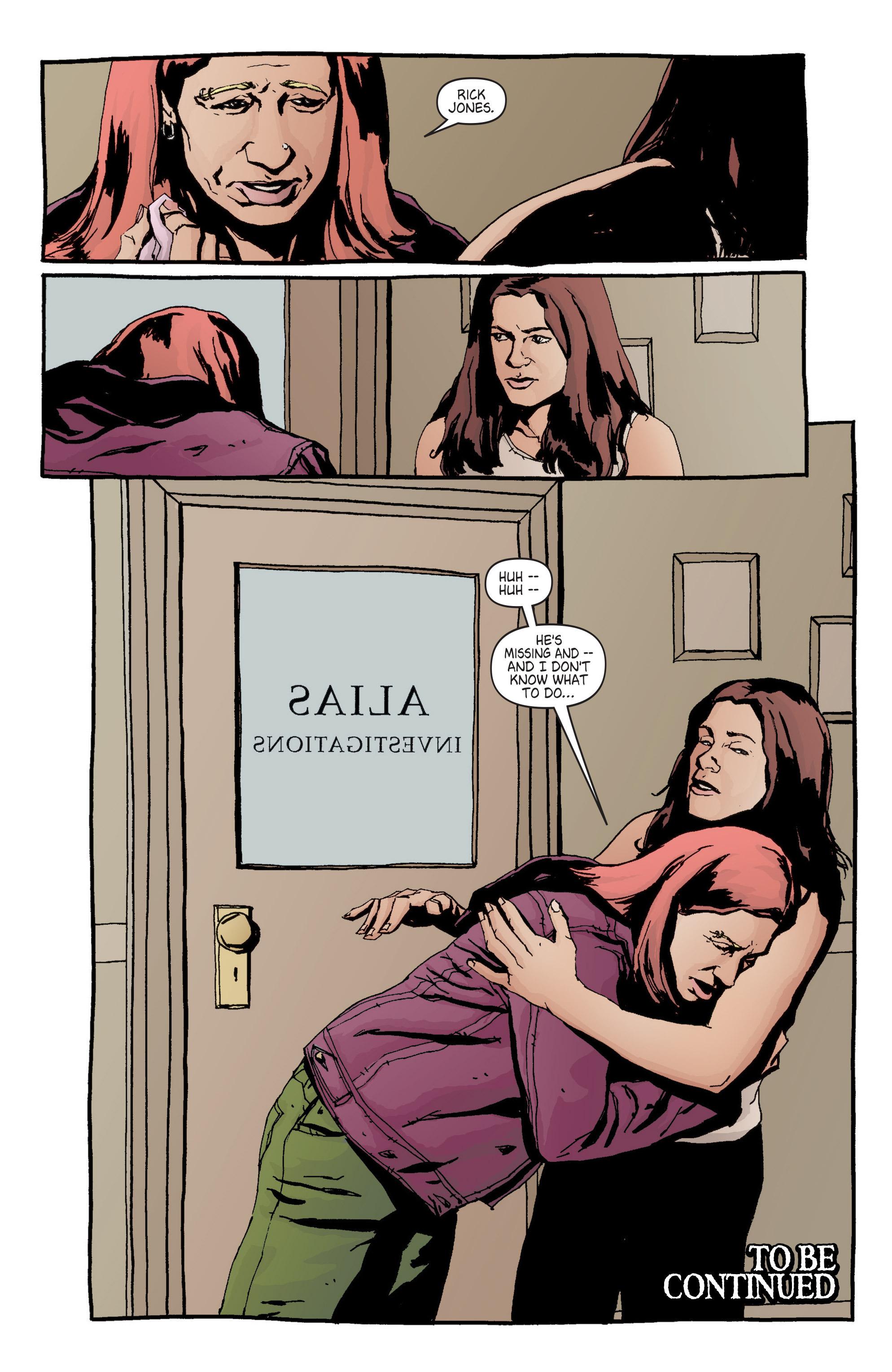 Read online Alias comic -  Issue #6 - 22
