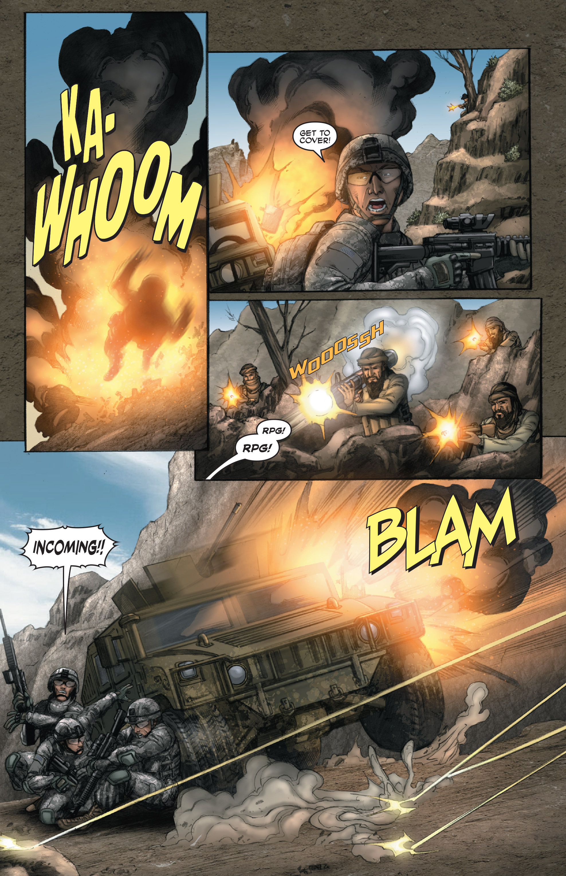 Read online America's Army comic -  Issue #14 - 12