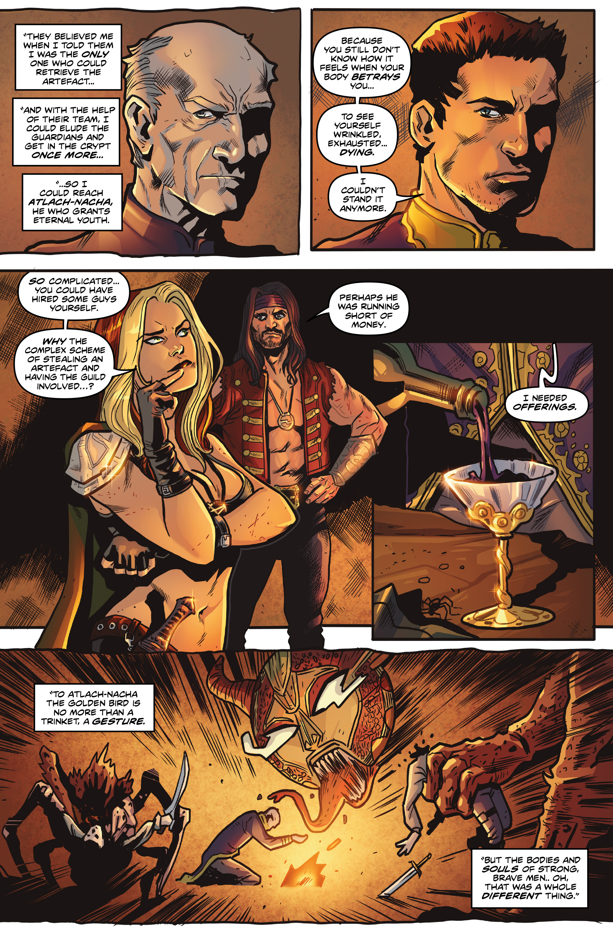 Read online Rogues!: The Burning Heart comic -  Issue #5 - 12