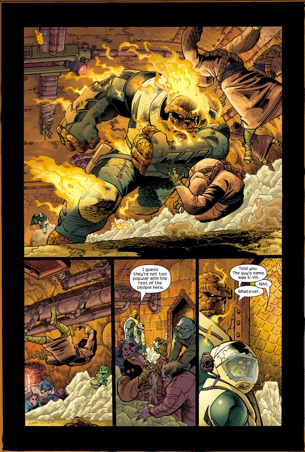 Read online Ultimate Fantastic Four (2004) comic -  Issue #17 - 14