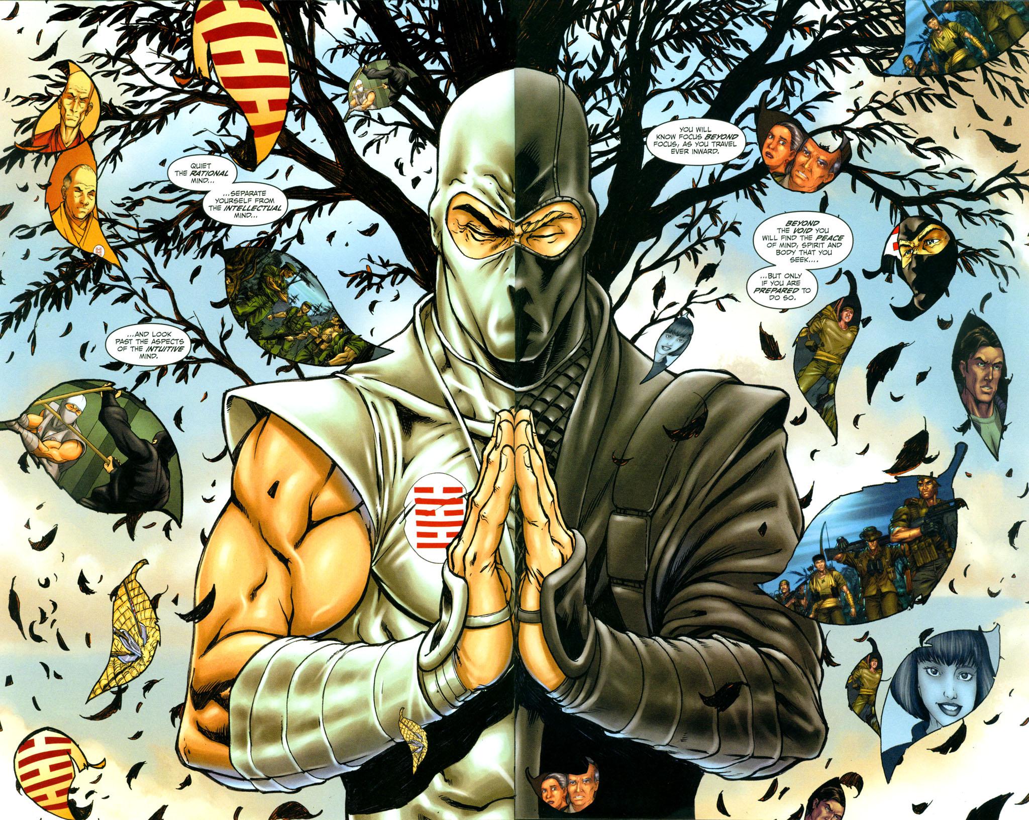 Read online Snake Eyes: Declassified comic -  Issue #4 - 12