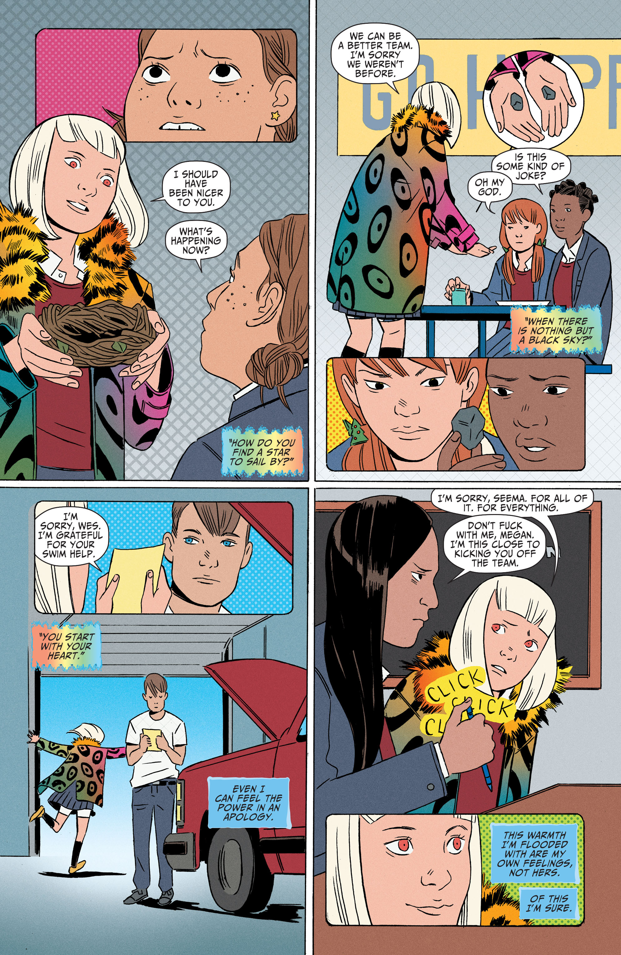 Read online Shade, the Changing Girl comic -  Issue #4 - 21