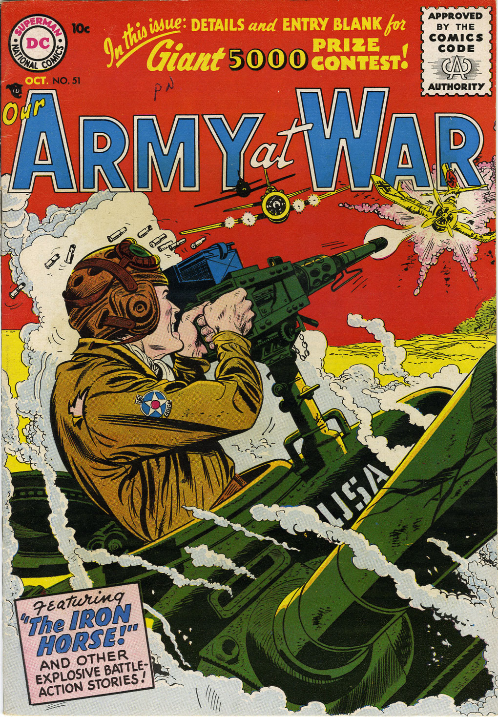Our Army at War (1952) issue 51 - Page 1