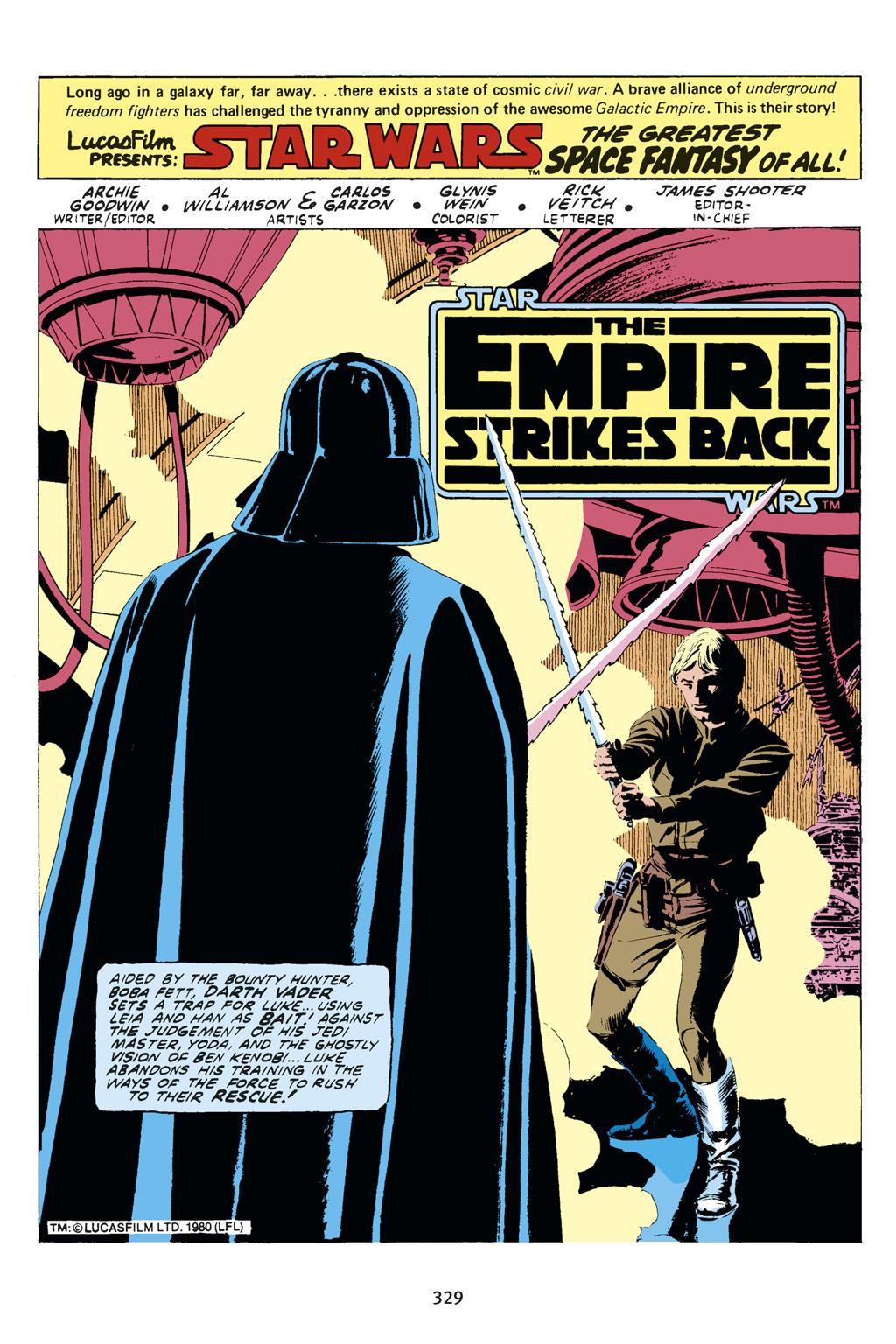Read online Star Wars Omnibus comic -  Issue # Vol. 14 - 327