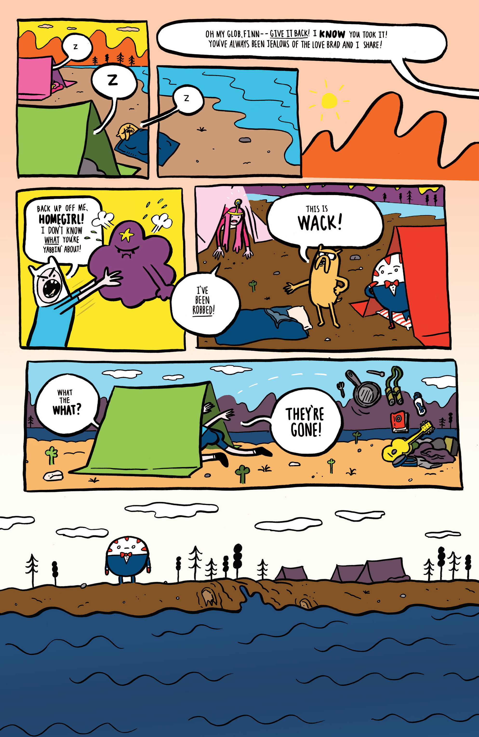 Read online Adventure Time comic -  Issue #45 - 28