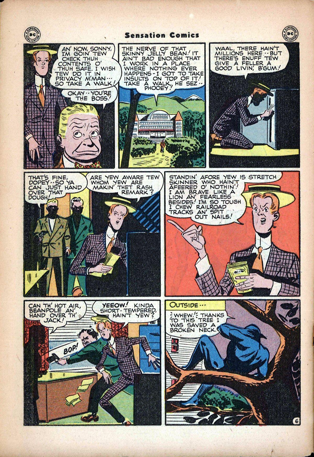Read online Sensation (Mystery) Comics comic -  Issue #62 - 48