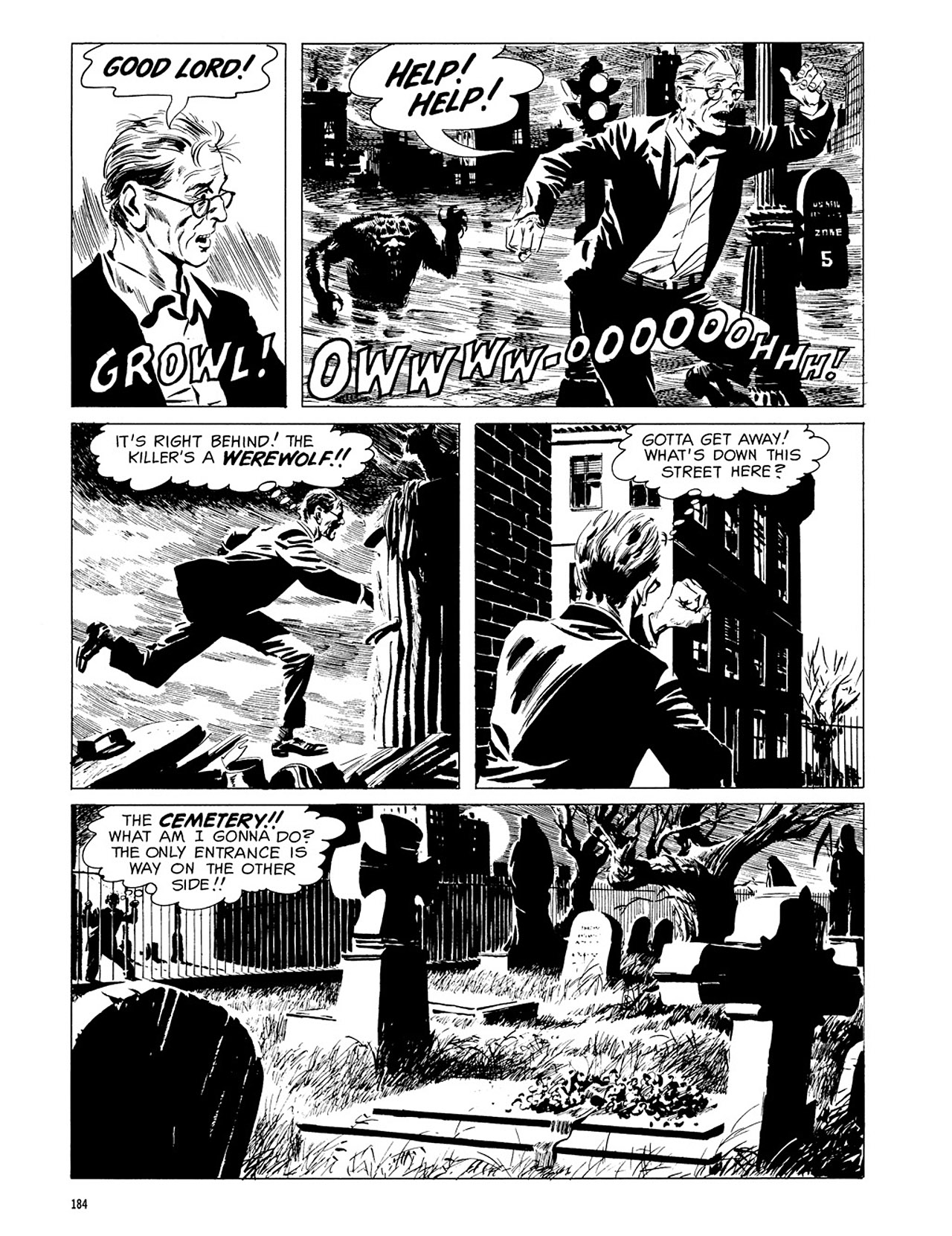 Read online Eerie Archives comic -  Issue # TPB 3 - 185