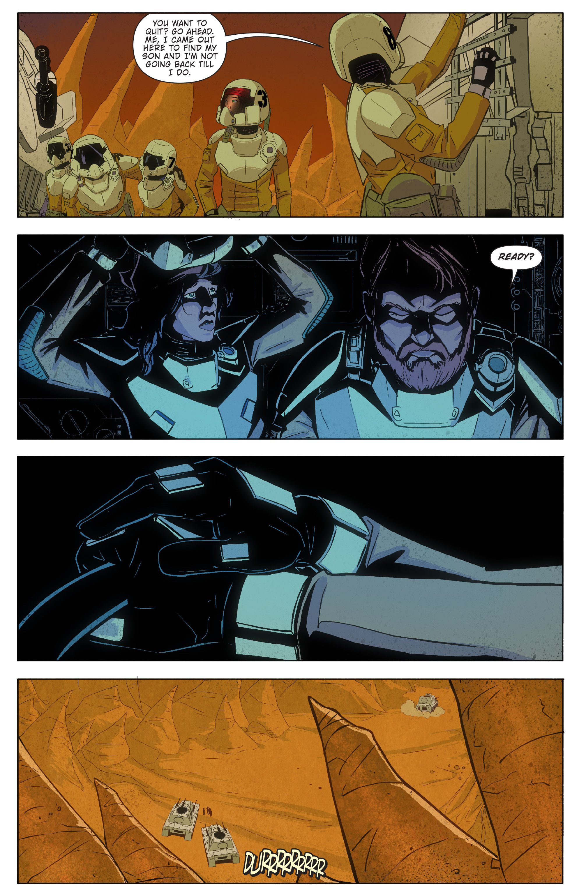 Read online Red Dog comic -  Issue #4 - 35