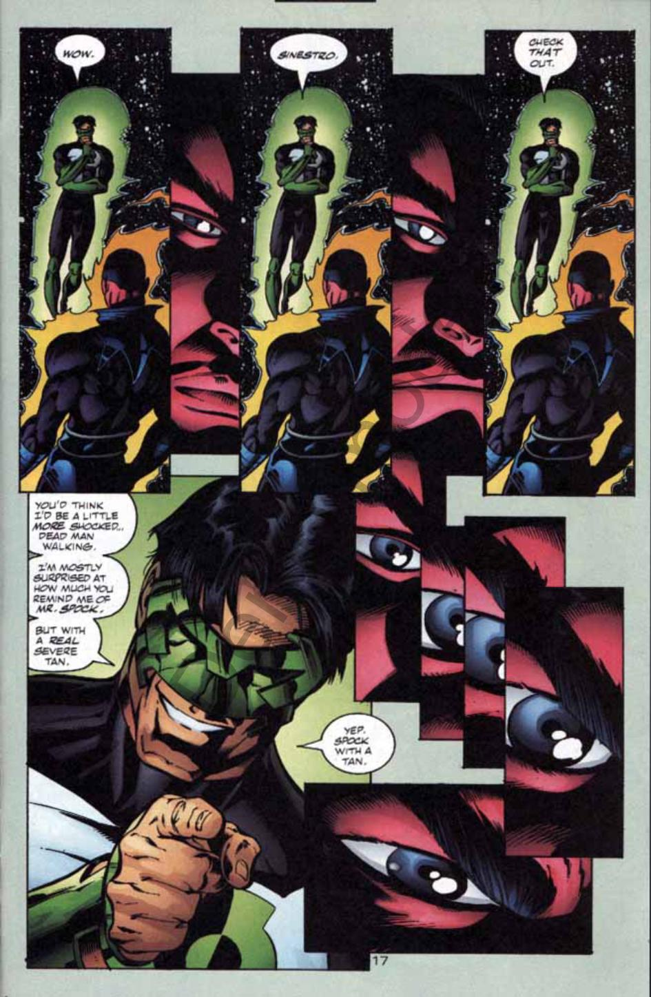 Read online Green Lantern: Our Worlds At War comic -  Issue # Full - 16