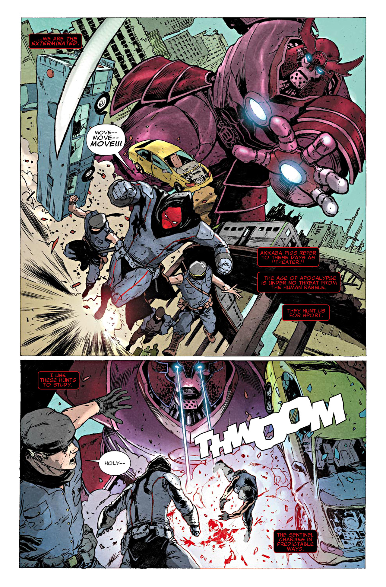 Read online Uncanny X-Force (2010) comic -  Issue #19.1 - 3