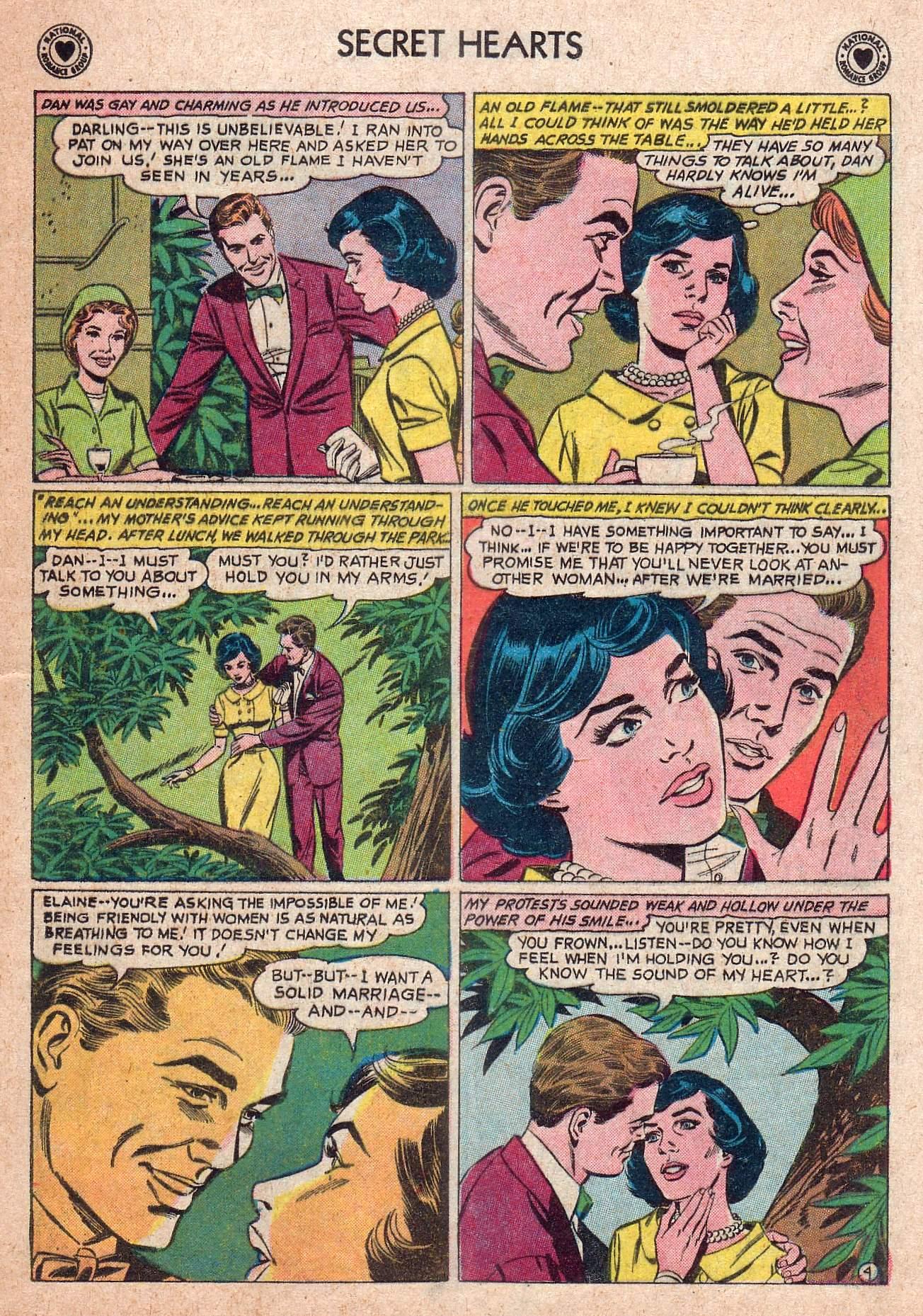 Read online Secret Hearts comic -  Issue #73 - 21