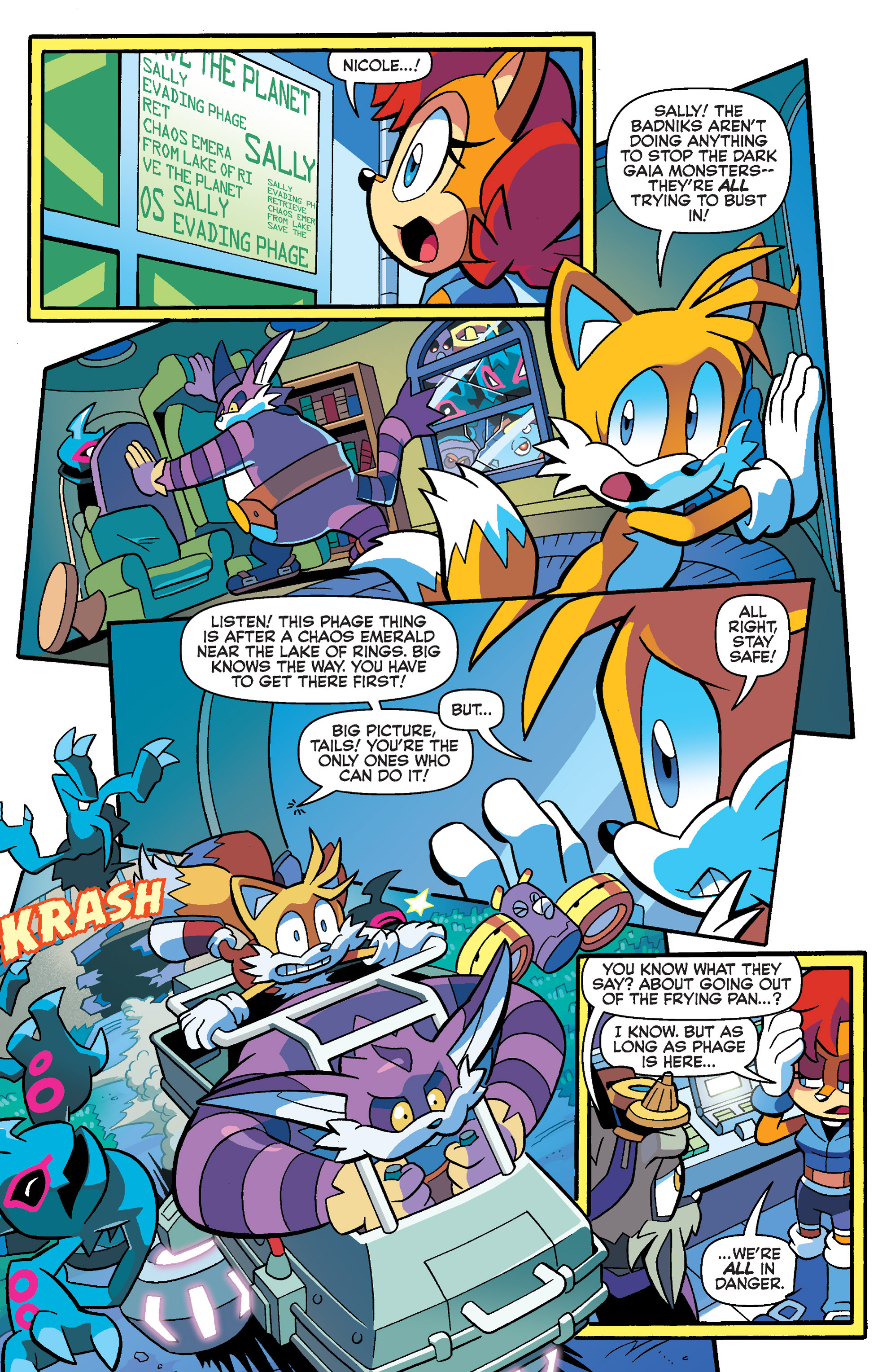 Read online Sonic Universe comic -  Issue #73 - 15