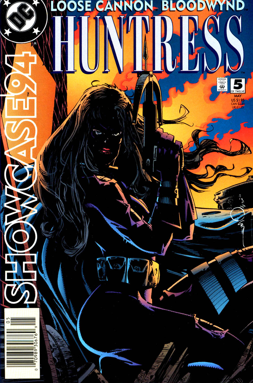 Read online Showcase '94 comic -  Issue #5 - 1