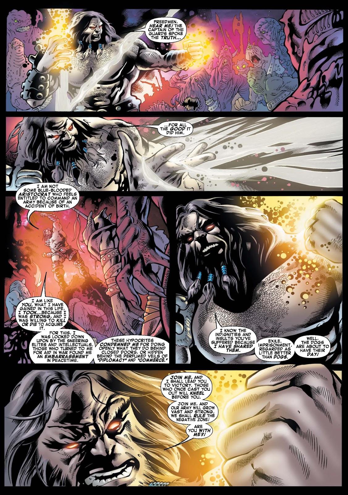 War of Kings: Warriors - Blastaar Issue #1 #1 - English 5