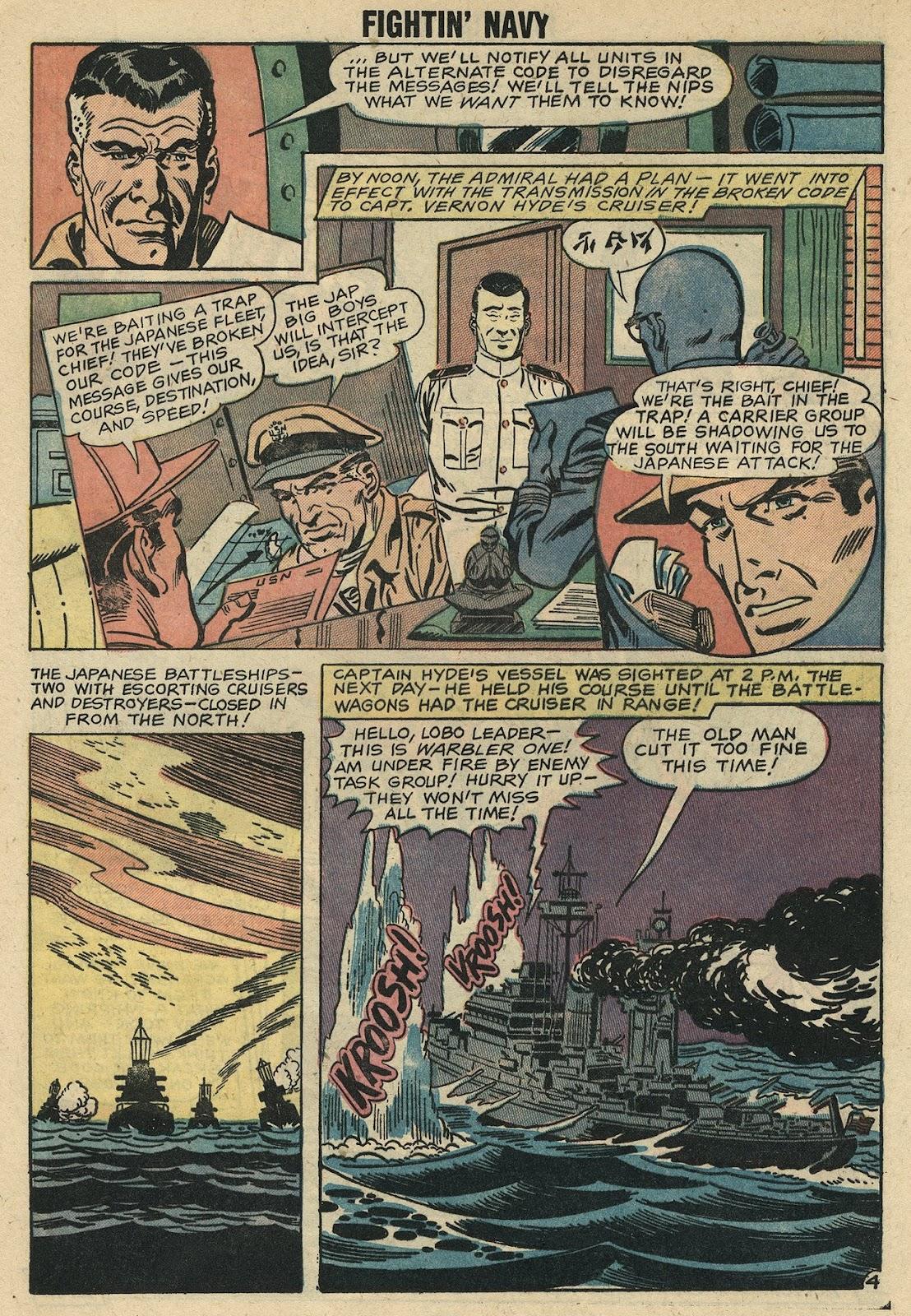 Read online Fightin' Navy comic -  Issue #86 - 24