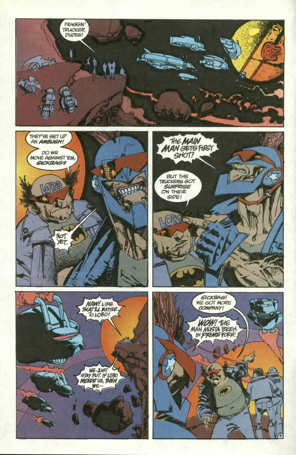 Read online Lobo (1990) comic -  Issue #3 - 5