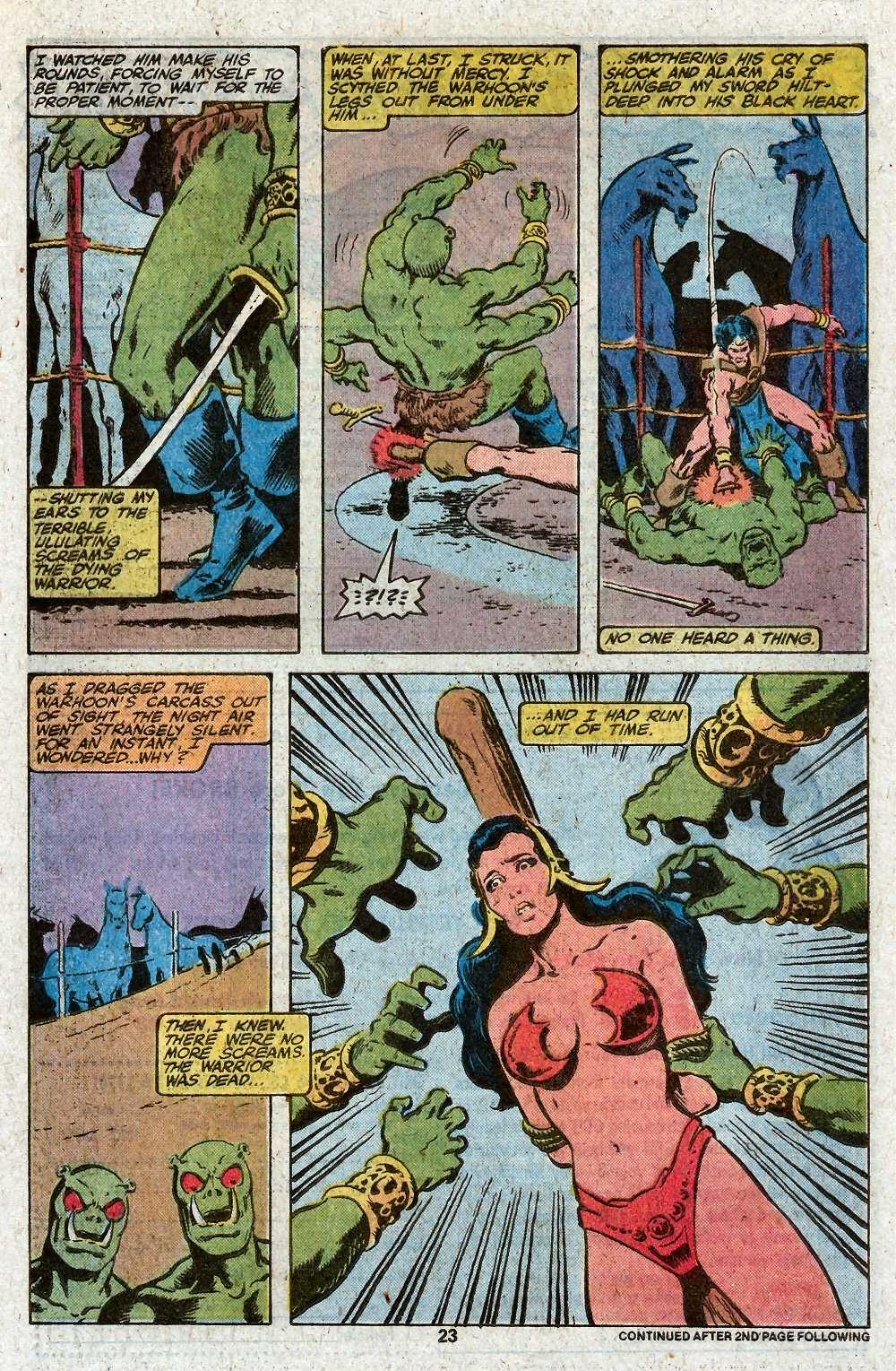 John Carter Warlord of Mars issue 27 - Page 25