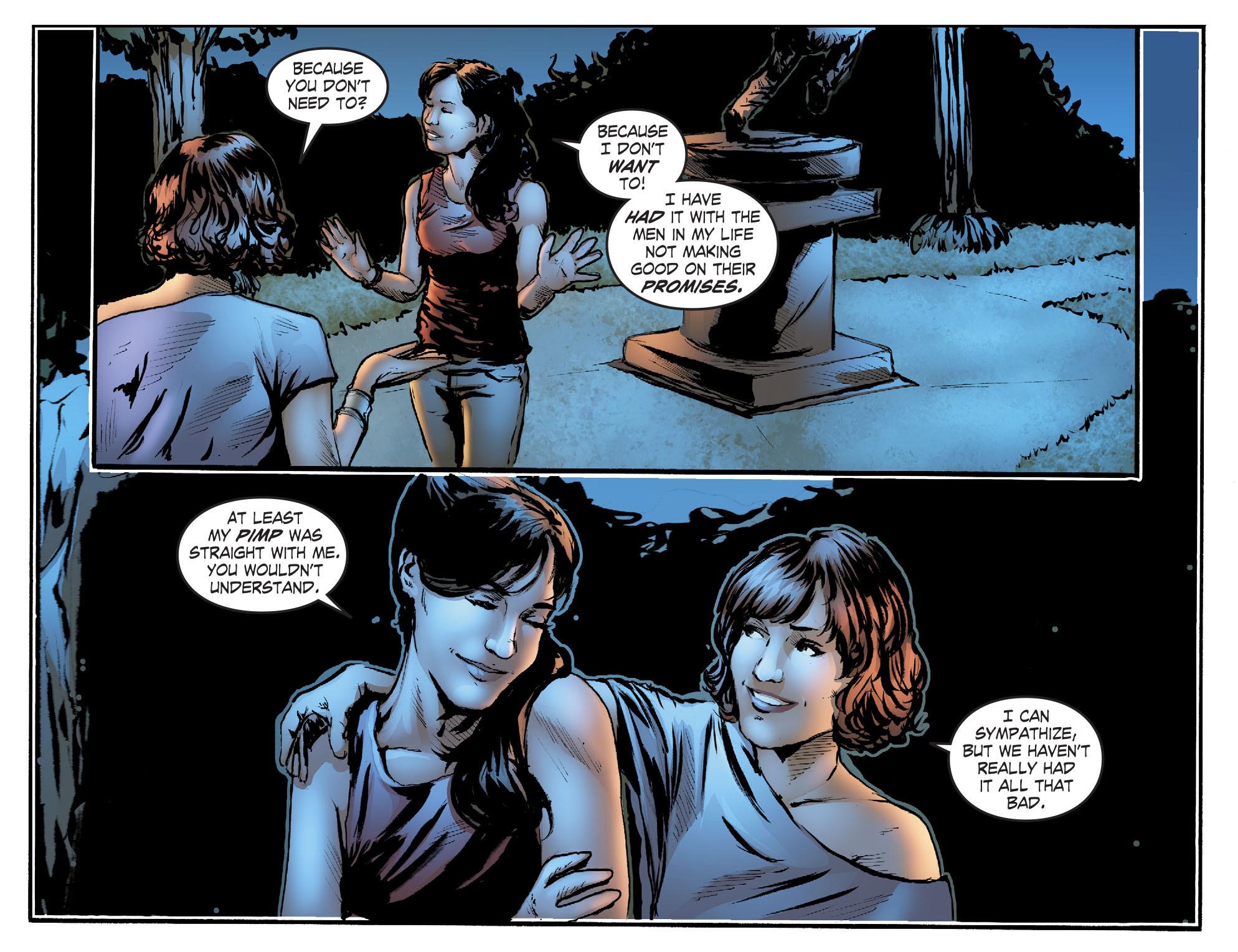 Read online Smallville: Titans comic -  Issue #2 - 10