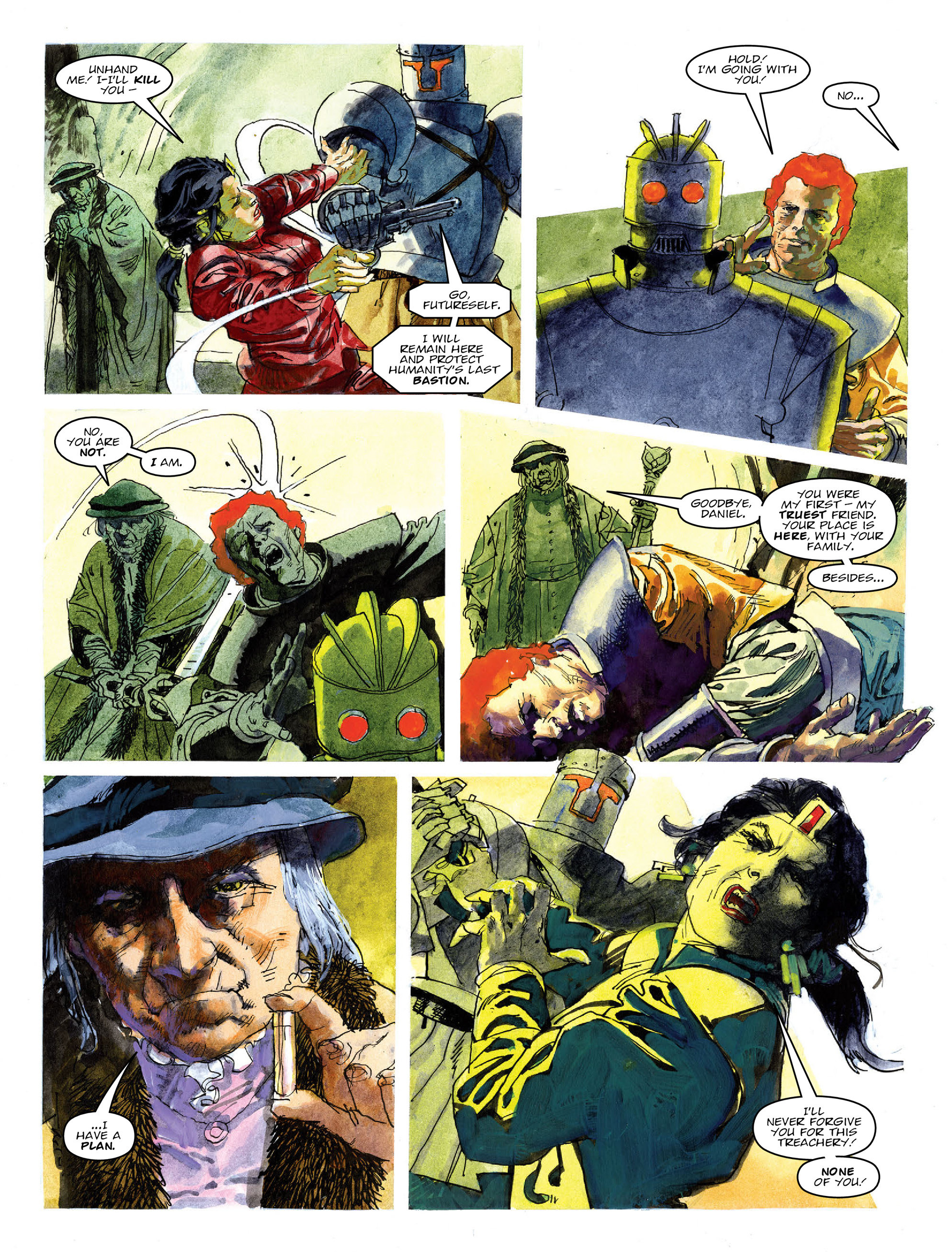 Read online 2000 AD comic -  Issue #2020 - 22