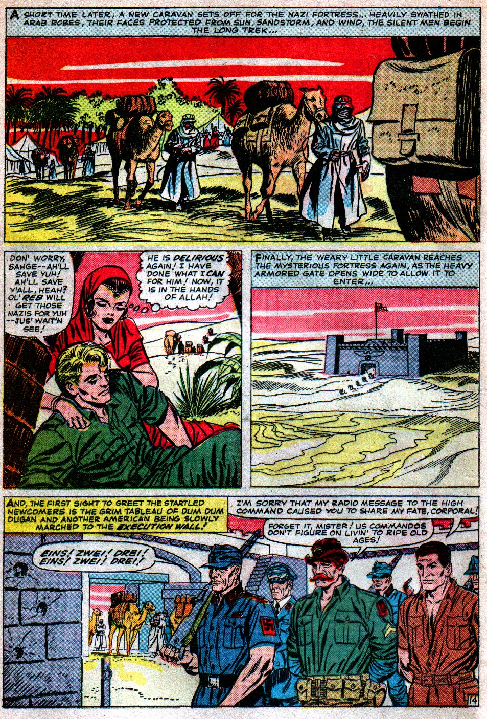 Read online Sgt. Fury comic -  Issue #16 - 20
