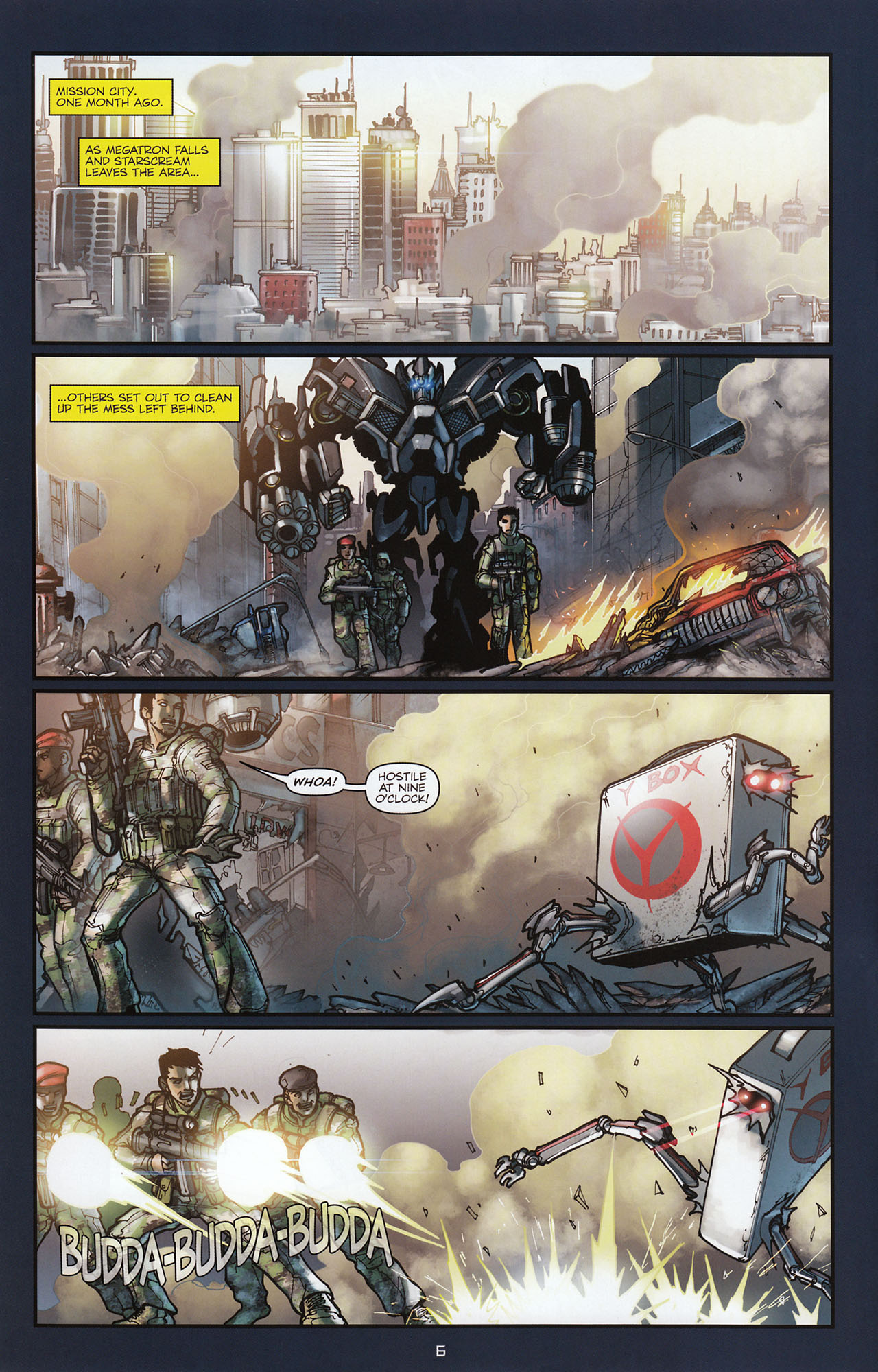 Read online Transformers: Alliance comic -  Issue #1 - 9