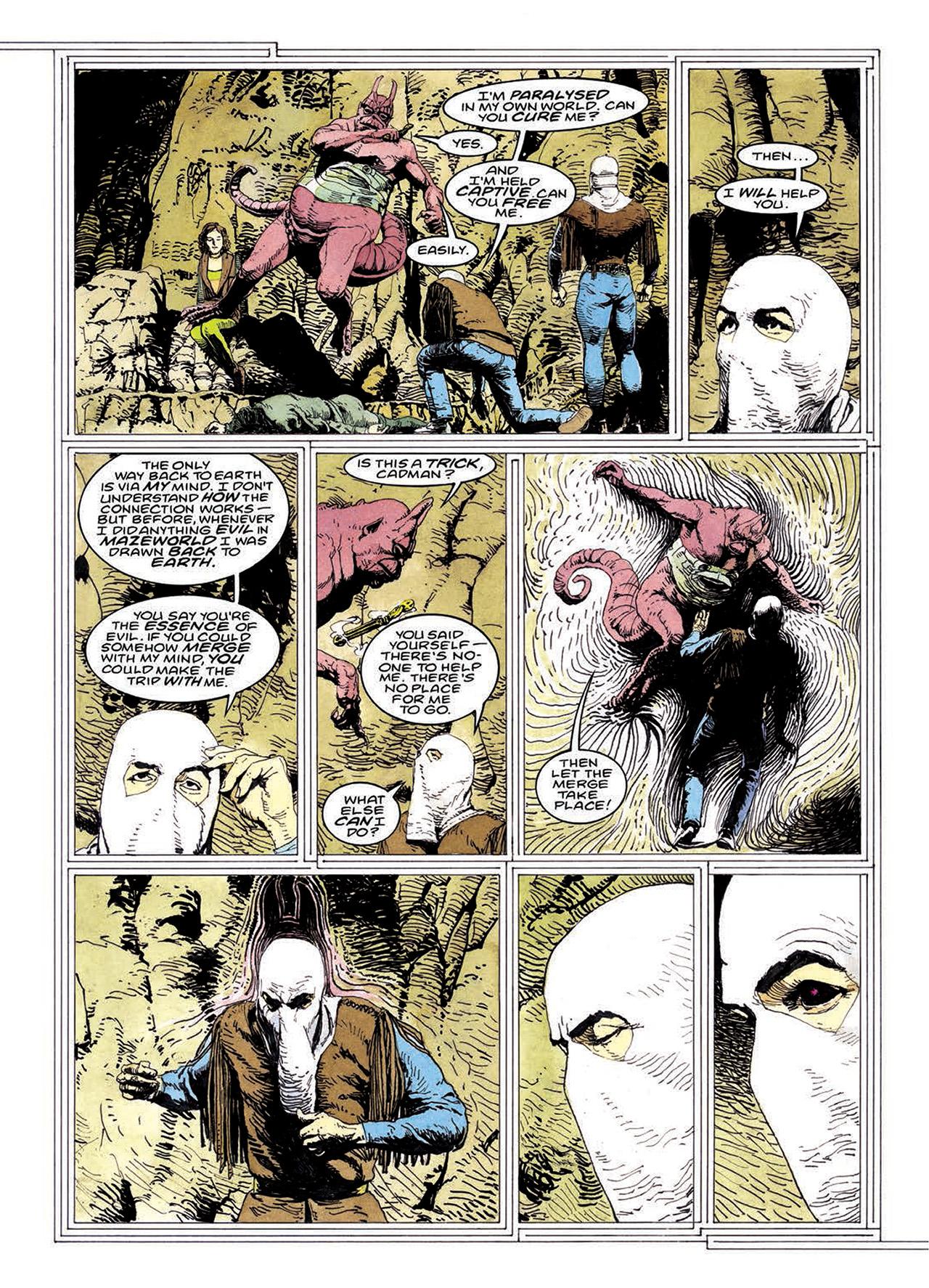 Read online Mazeworld comic -  Issue # TPB - 179