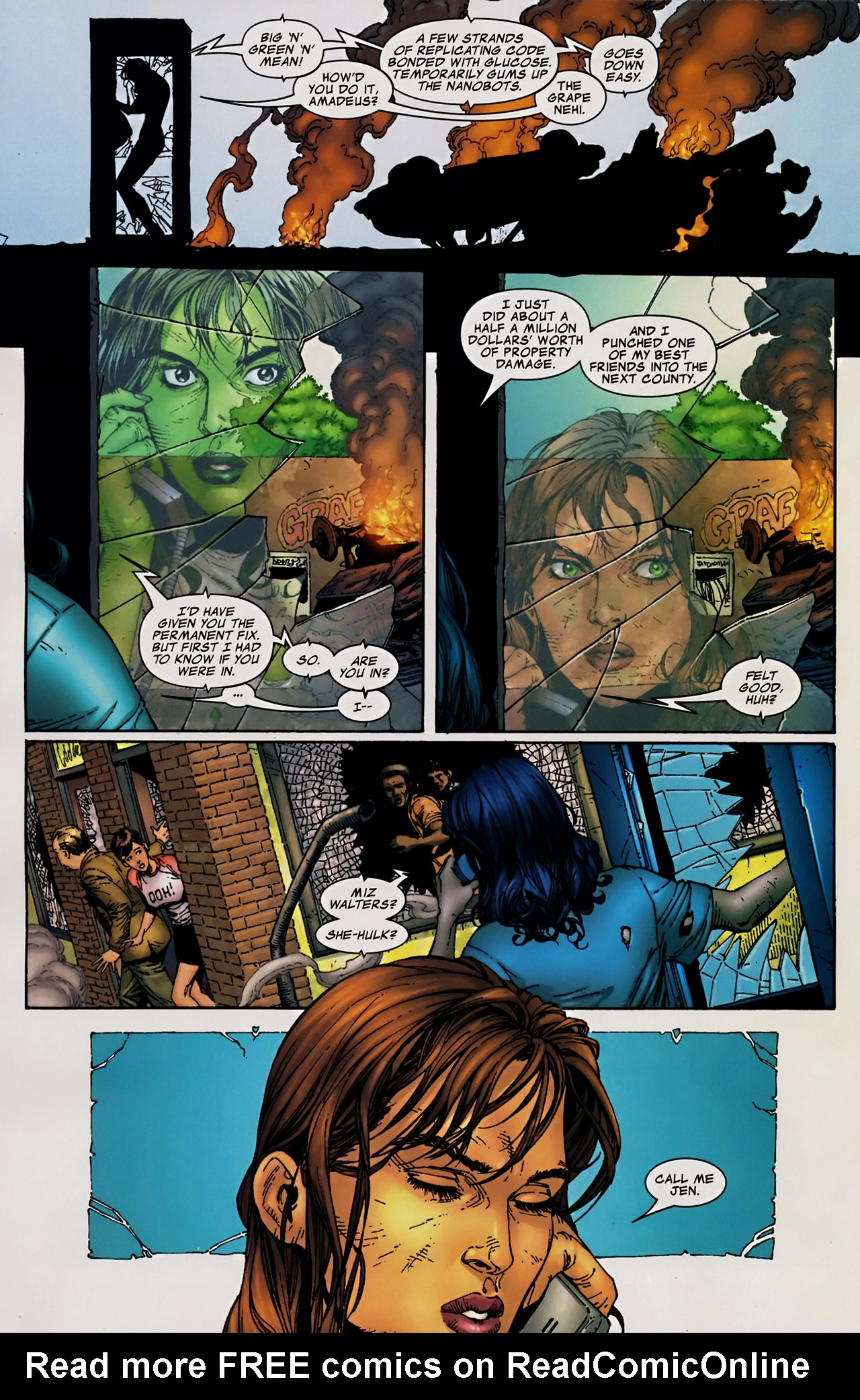 Read online The Incredible Hulk (2000) comic -  Issue #106 - 20