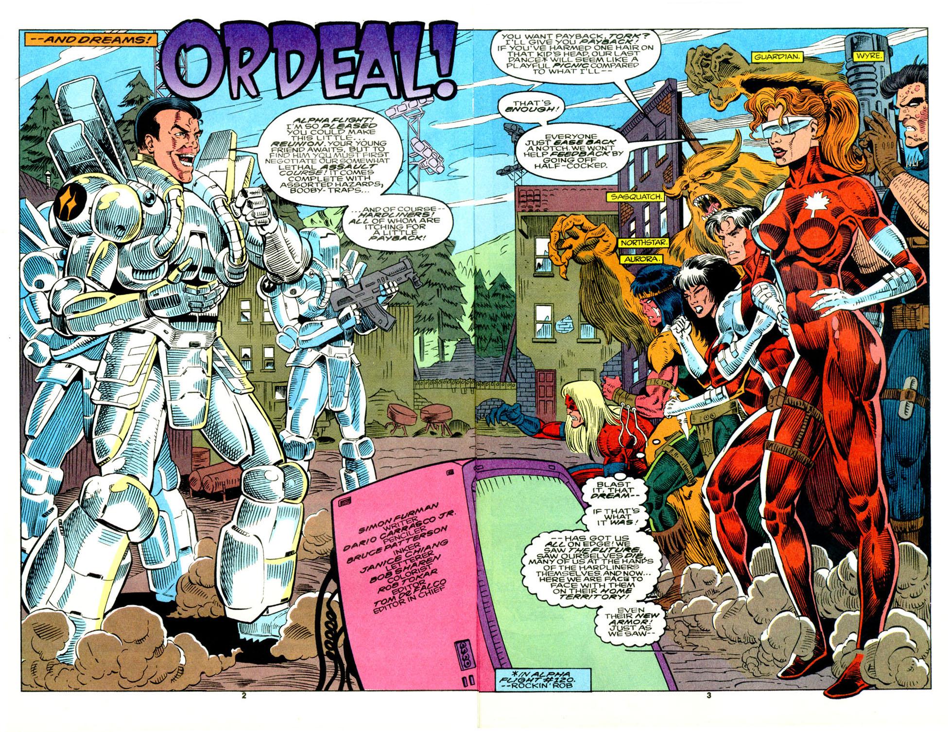 Read online Alpha Flight (1983) comic -  Issue #129 - 4