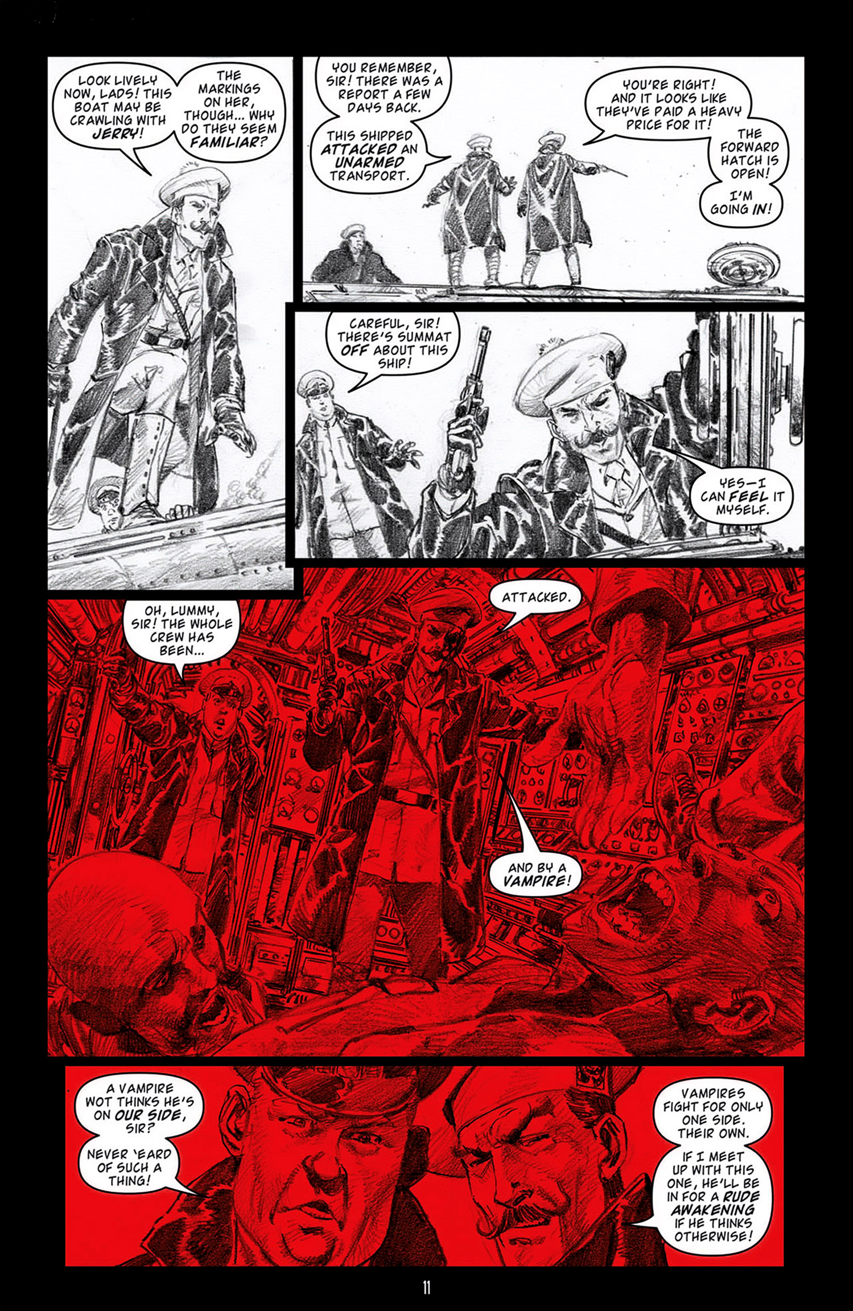 Read online Angel: Blood & Trenches comic -  Issue #3 - 13