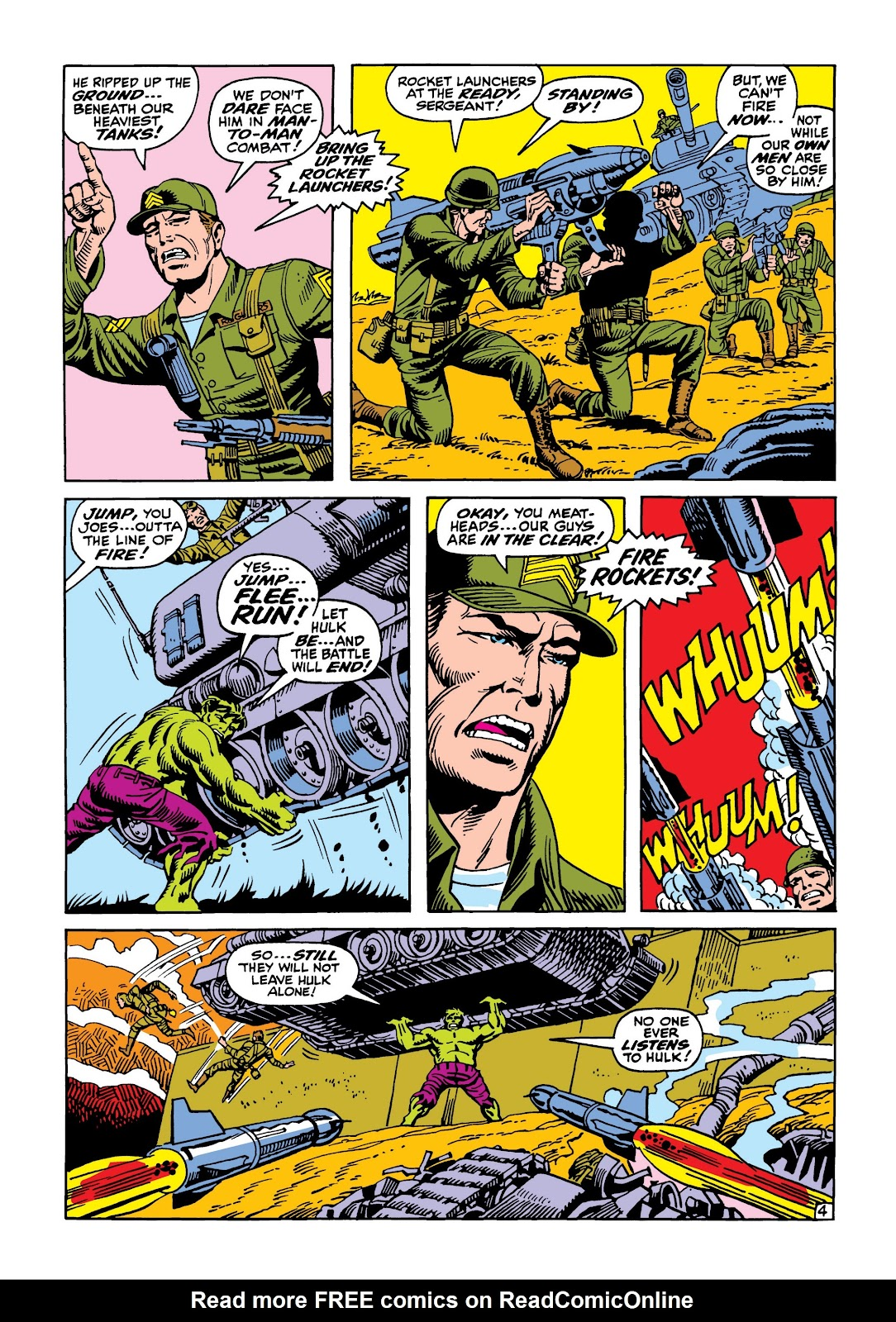 Read online Marvel Masterworks: The Incredible Hulk comic -  Issue # TPB 5 (Part 2) - 99