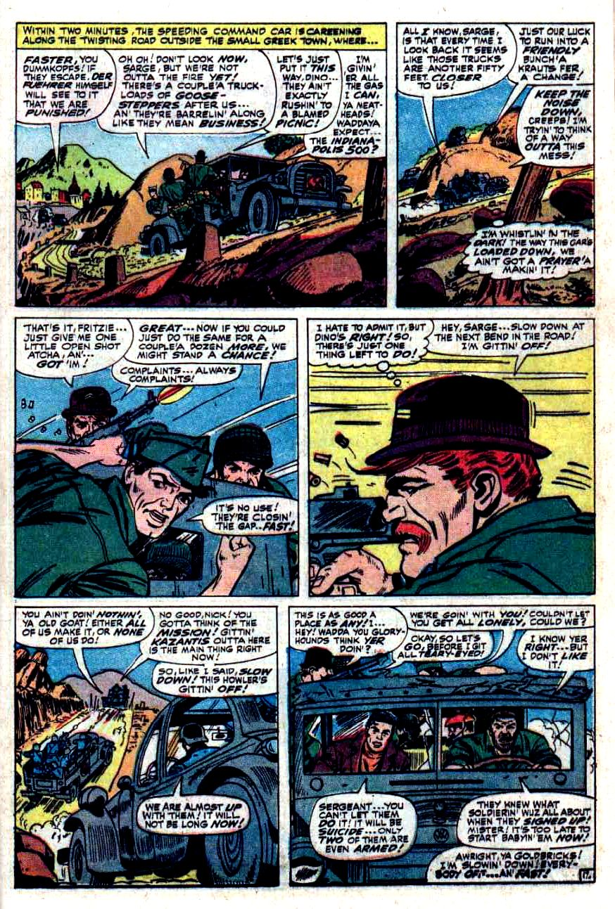Read online Sgt. Fury comic -  Issue #33 - 25