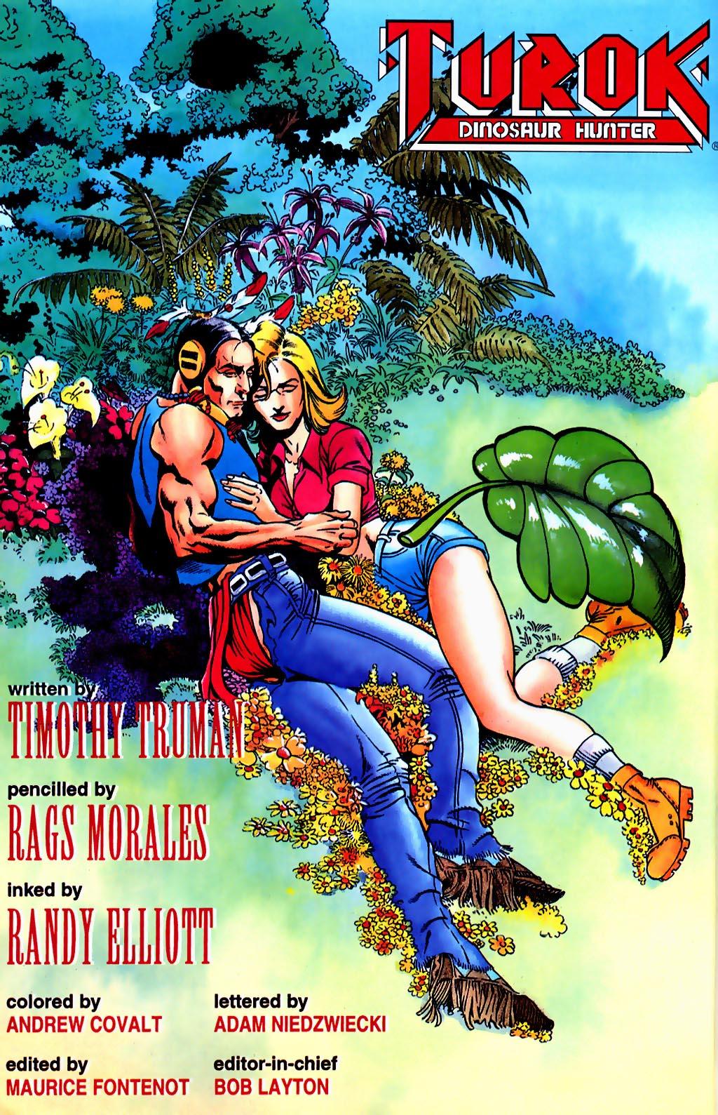 Read online Turok, Dinosaur Hunter (1993) comic -  Issue #37 - 3