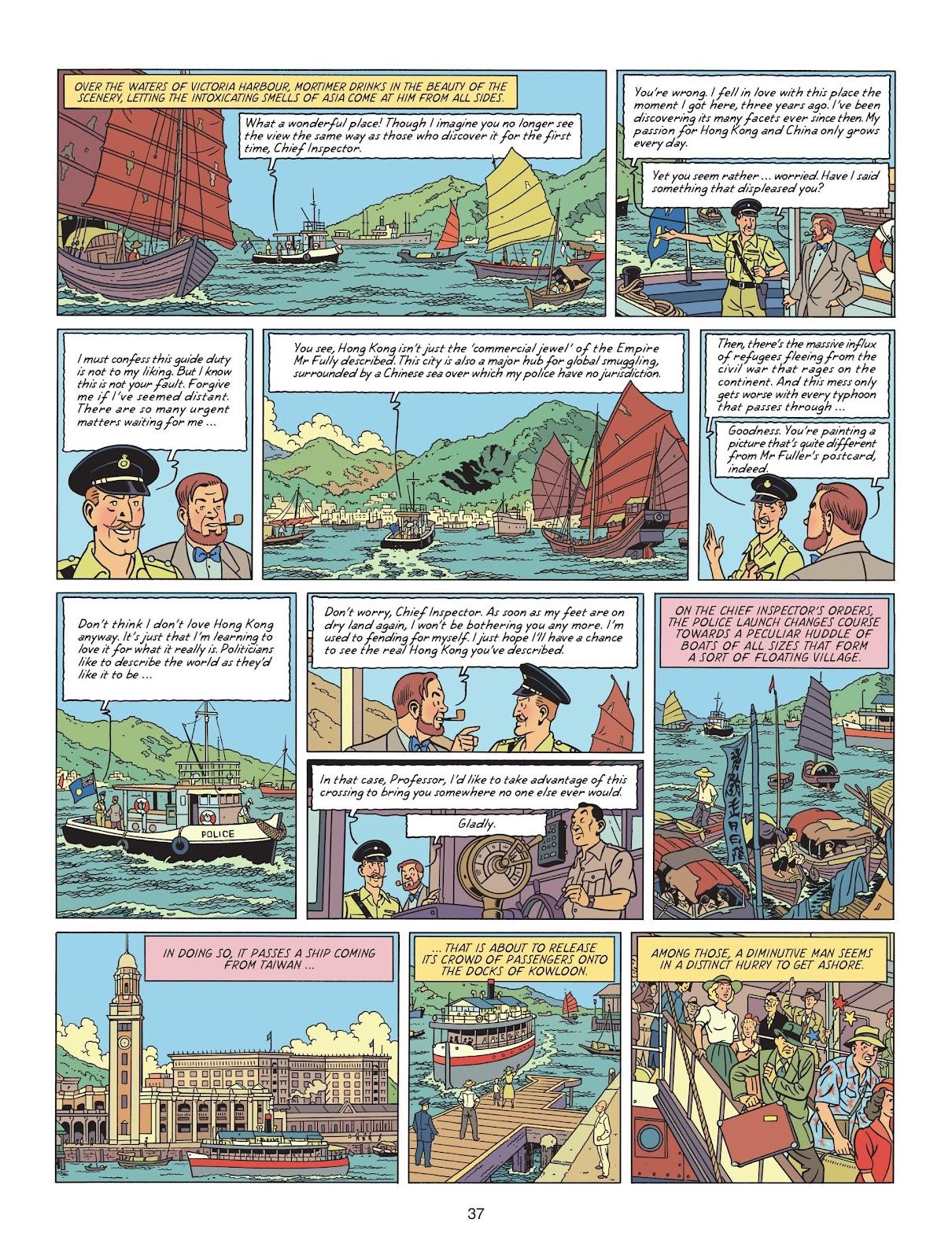 Read online Blake & Mortimer comic -  Issue #25 - 39