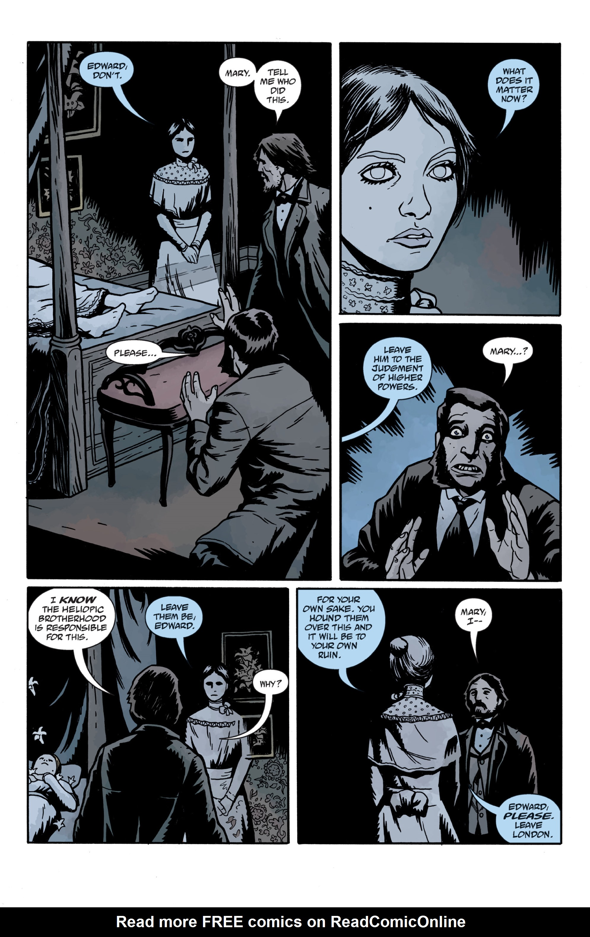 Read online Sir Edward Grey, Witchfinder: In the Service of Angels comic -  Issue # TPB - 123