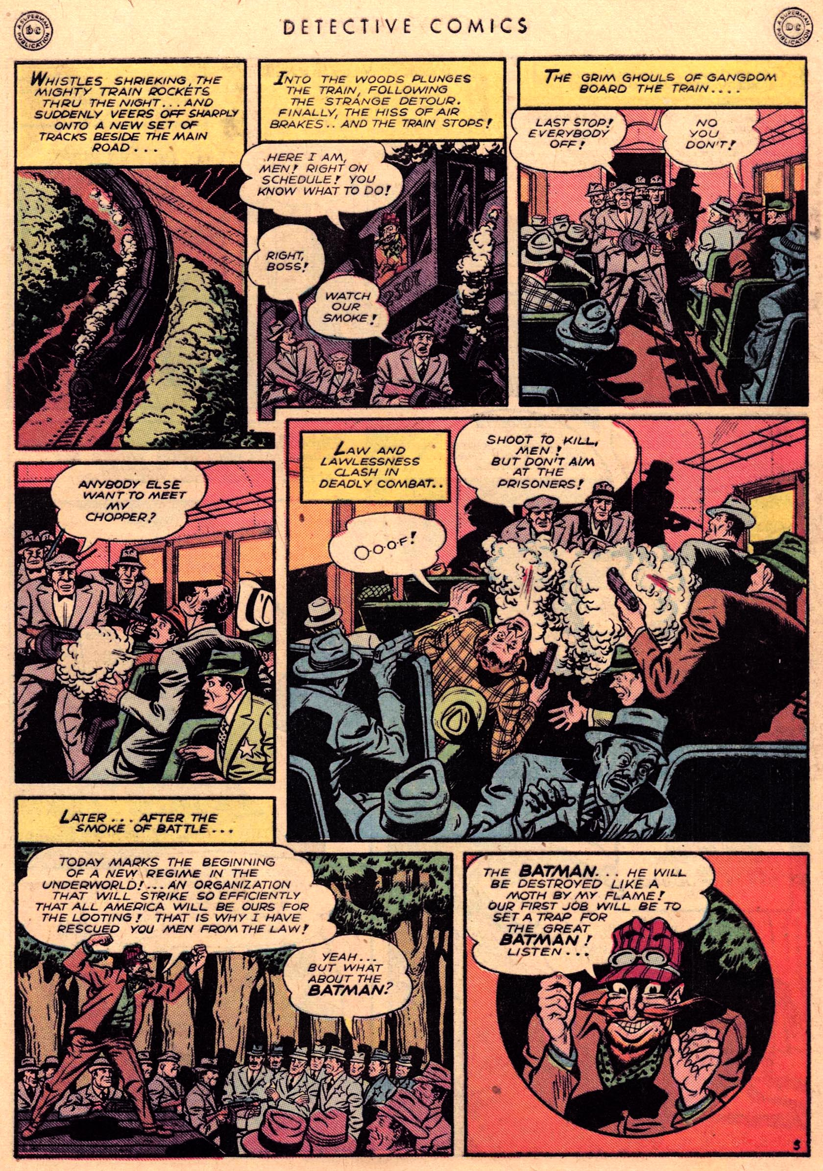 Read online Detective Comics (1937) comic -  Issue #95 - 5