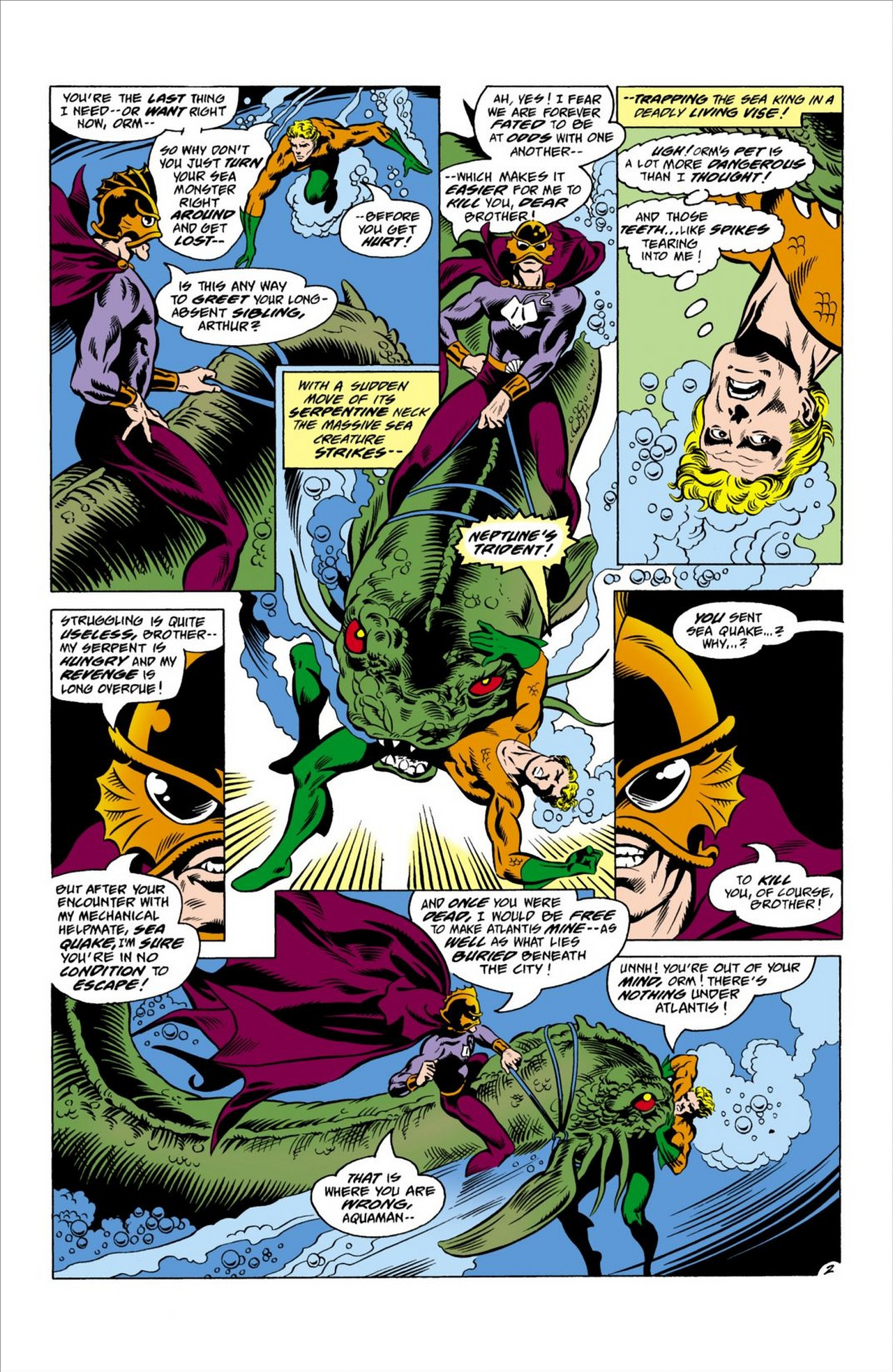 Read online Aquaman (1962) comic -  Issue #63 - 3
