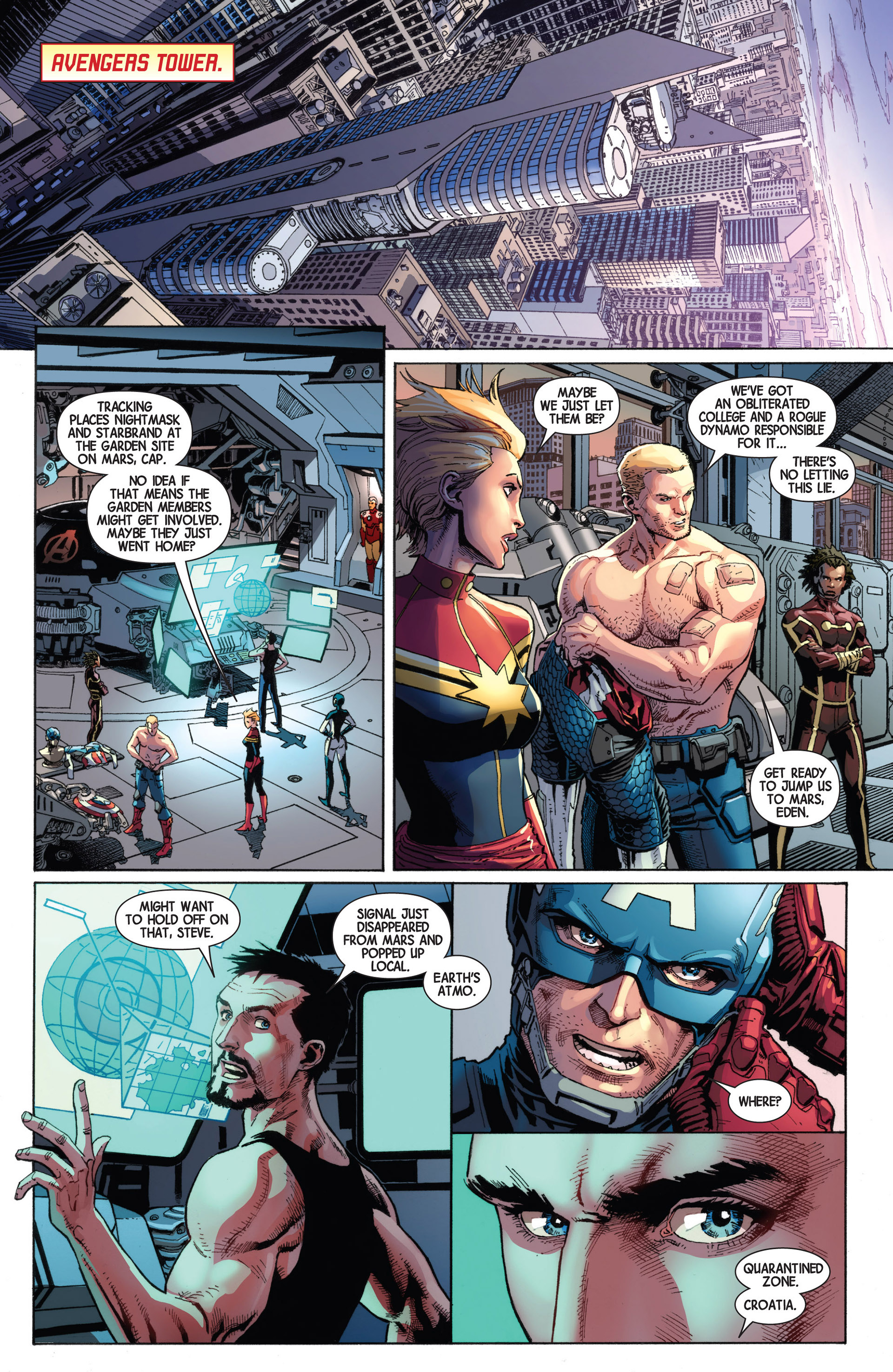 Read online Avengers (2013) comic -  Issue #9 - 11