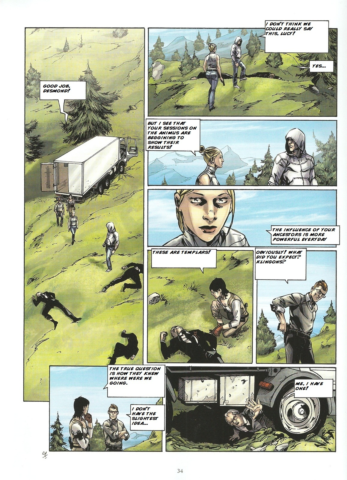 Read online Assassin's Creed (2009) comic -  Issue #2 - 34