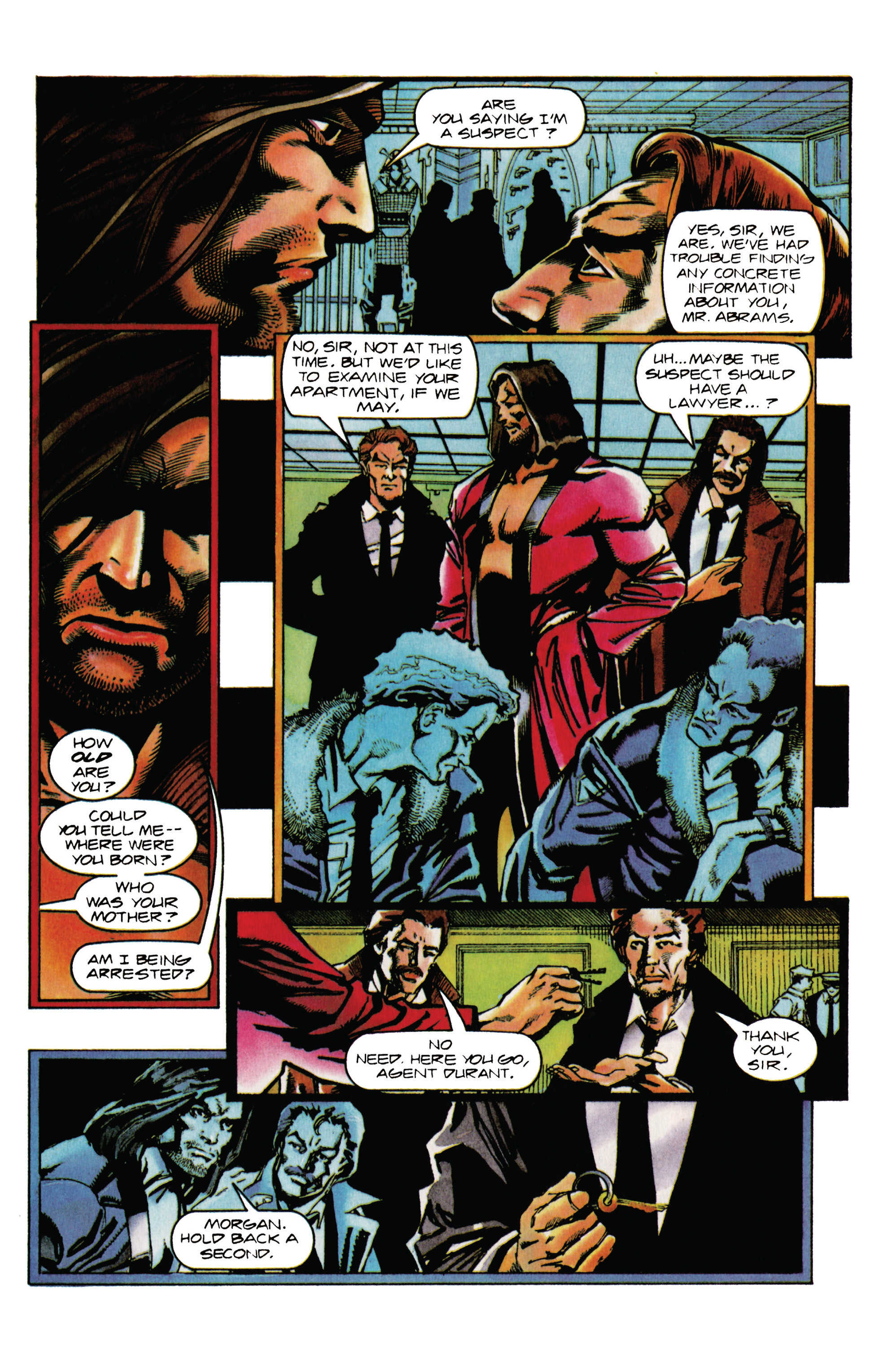 Read online Eternal Warrior (1992) comic -  Issue #33 - 14