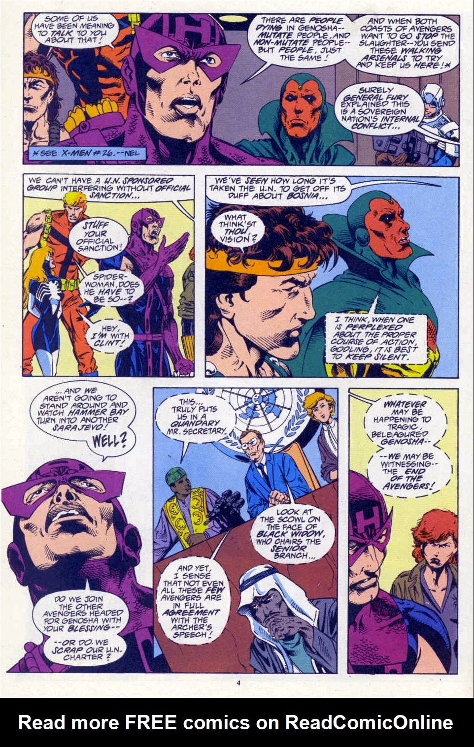 Avengers West Coast (1989) 101 Page 4