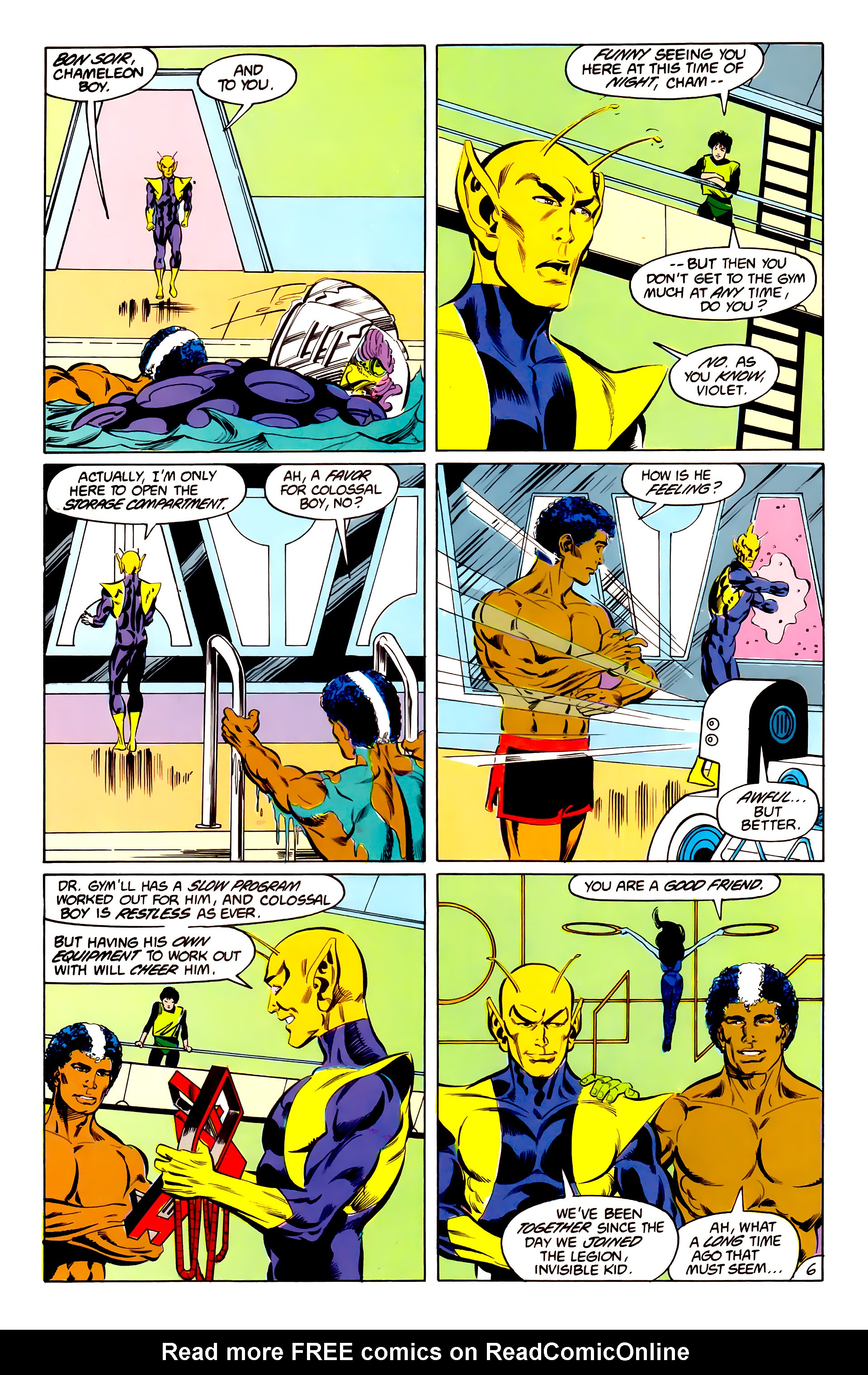 Legion of Super-Heroes (1984) 42 Page 6