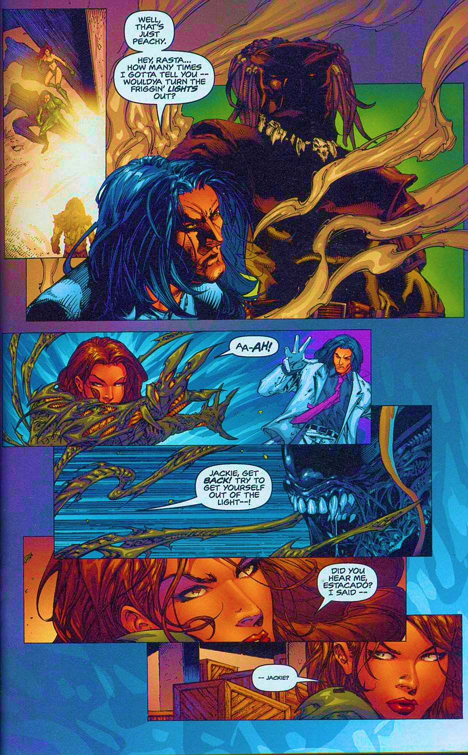 Read online Overkill: Witchblade/Aliens/Darkness/Predator comic -  Issue #2 - 18