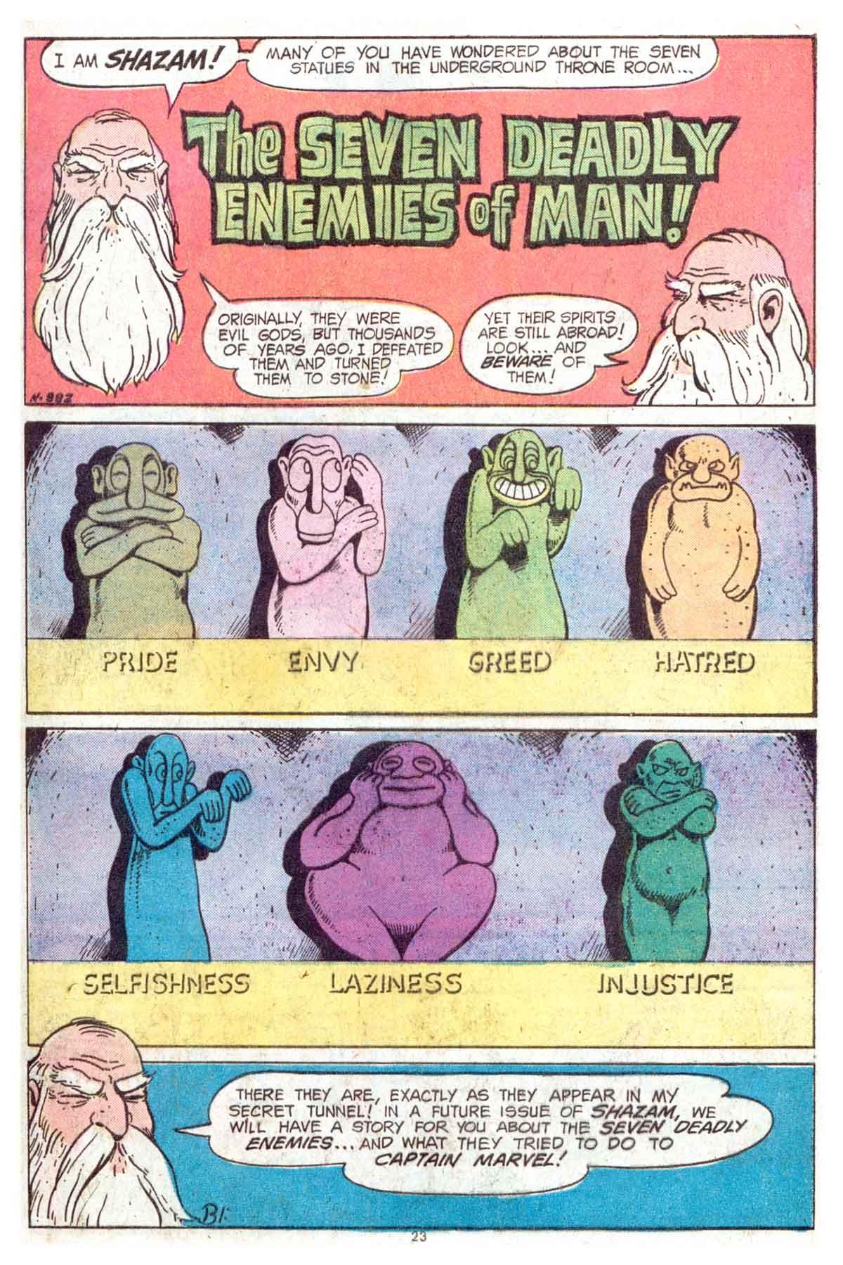 Read online Shazam! (1973) comic -  Issue #13 - 24