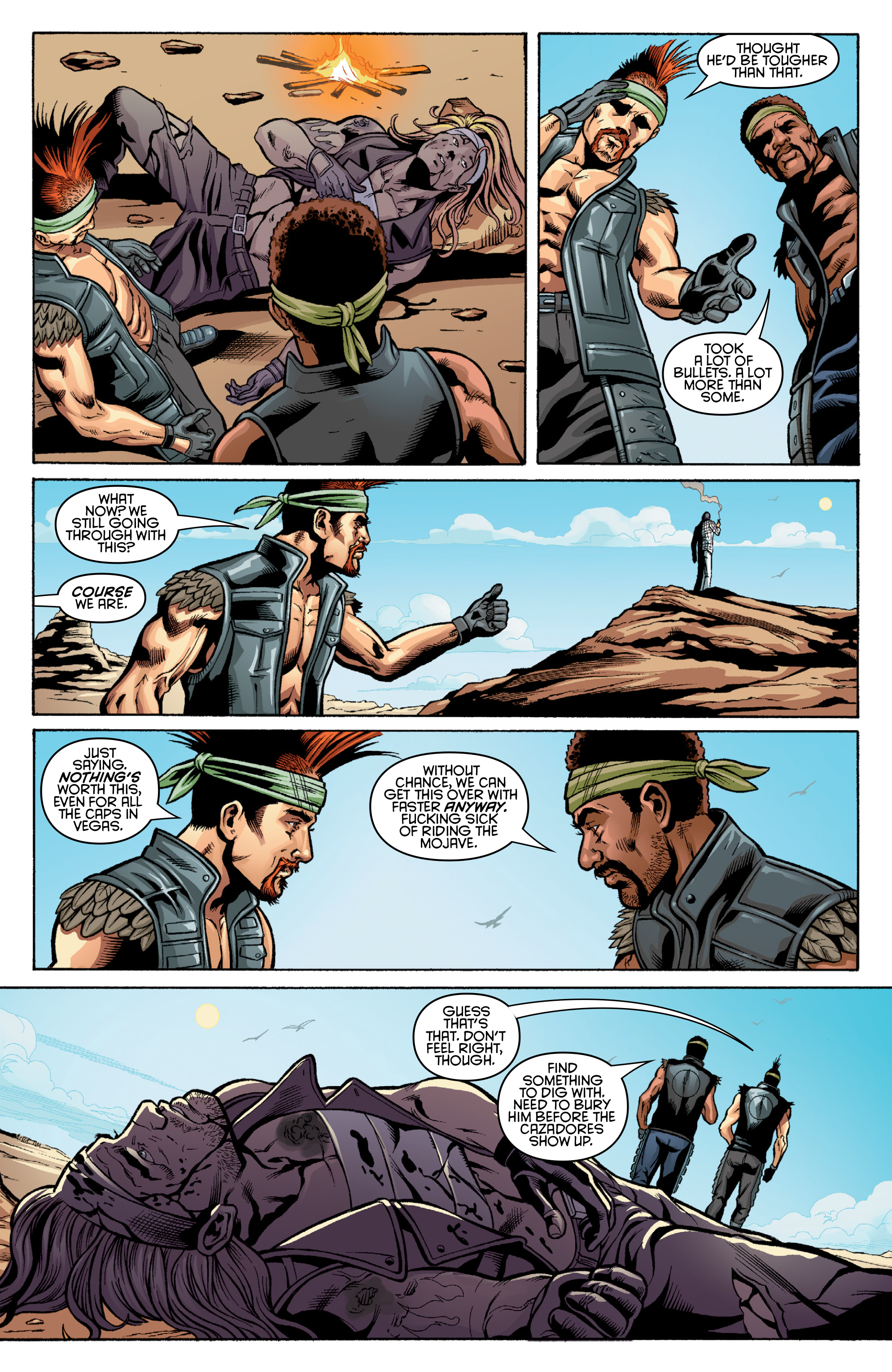Read online Fallout: New Vegas-All Roads comic -  Issue # Full - 43